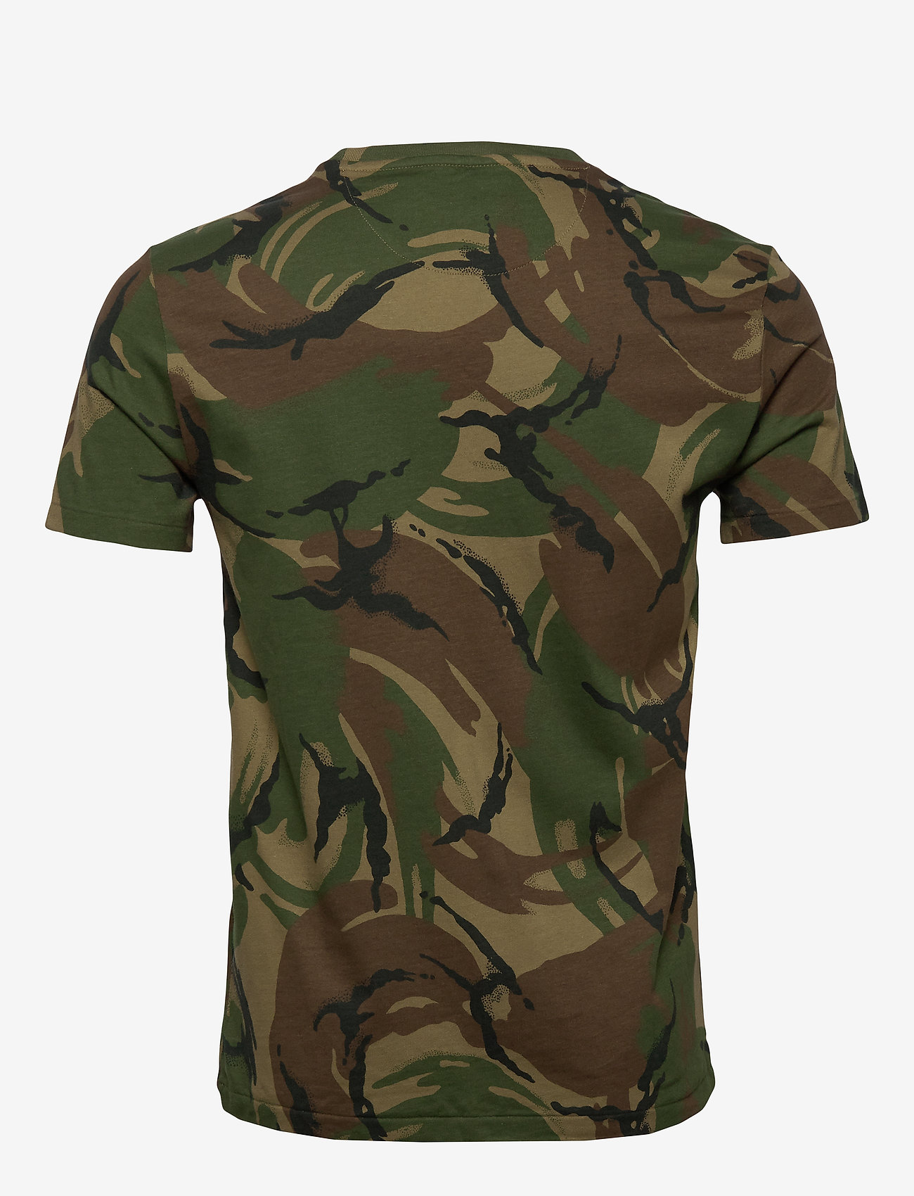 Custom Slim Fit Camo T-shirt (British Elmwood C) (626.50 kr) - Polo Ralph Lauren