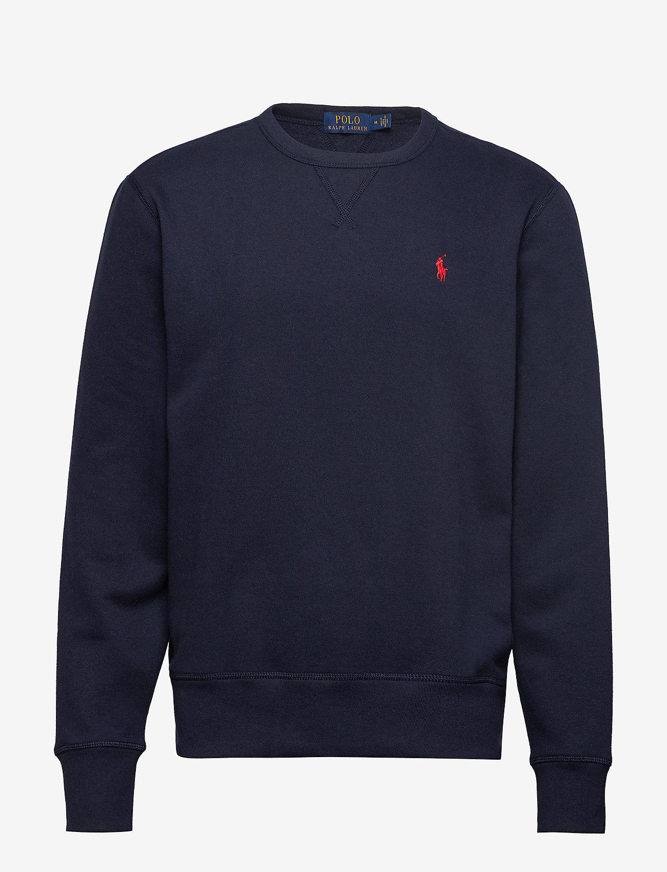 Polo Ralph Lauren - Fleece Crewneck Sweatshirt - basic sweatshirts - cruise navy