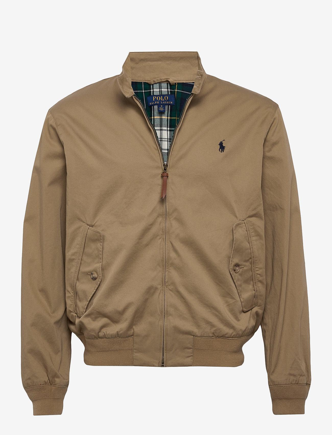 Polo Ralph Lauren - Cotton Twill Jacket - light jackets - luxury tan - 0