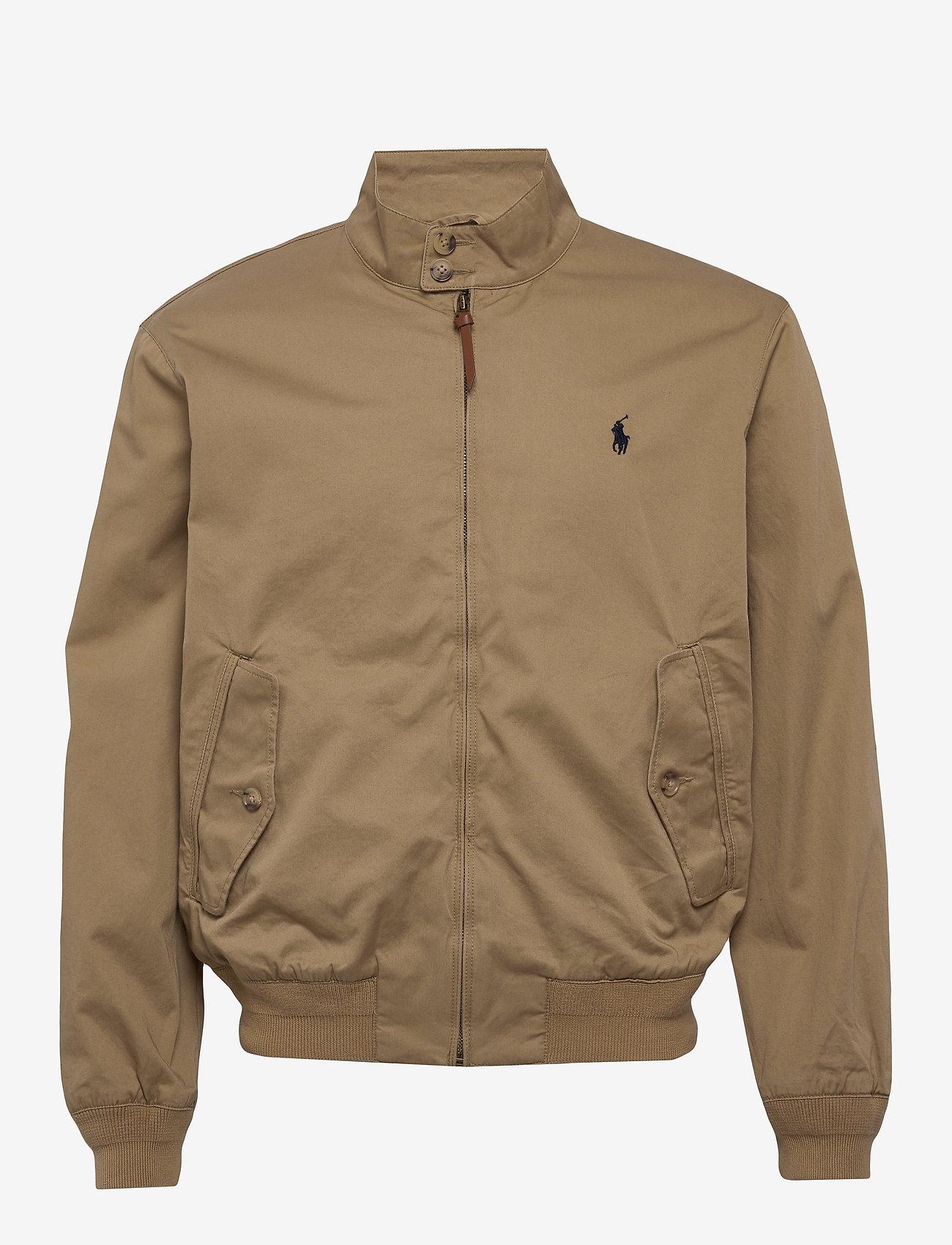 Polo Ralph Lauren - Cotton Twill Jacket - light jackets - luxury tan - 1