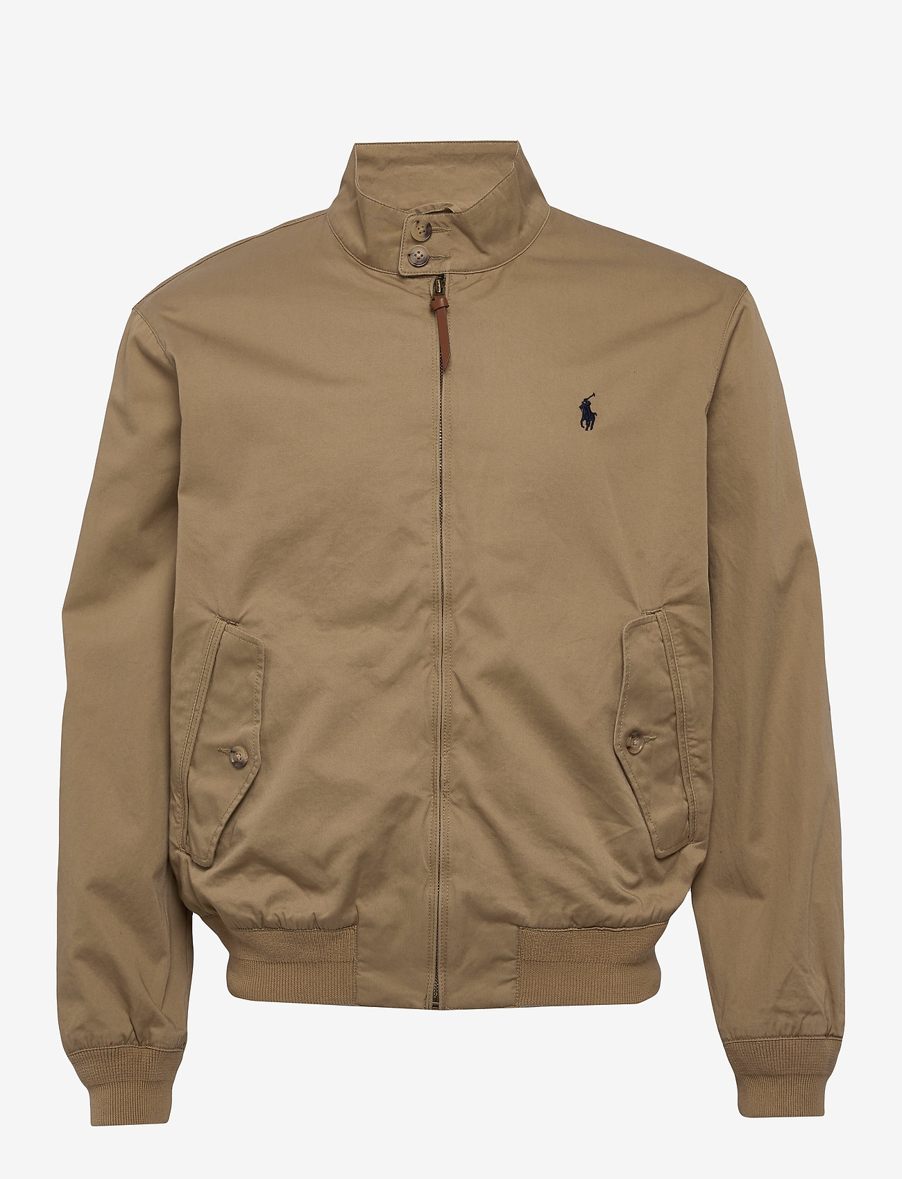 Polo Ralph Lauren - Cotton Twill Jacket - kurtki-wiosenne - luxury tan - 1