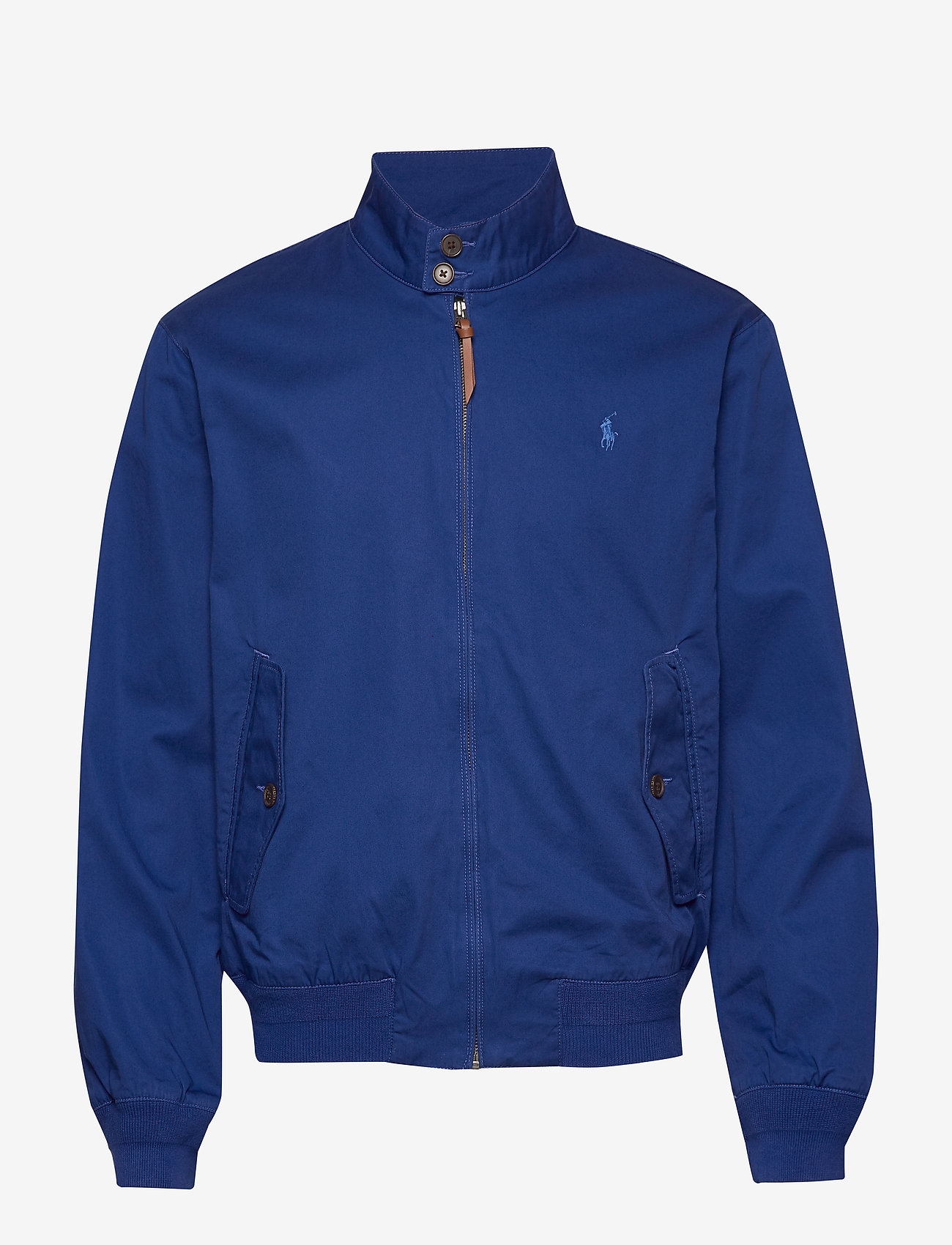 Polo Ralph Lauren - Cotton Twill Jacket - kurtki-wiosenne - sistine blue - 1