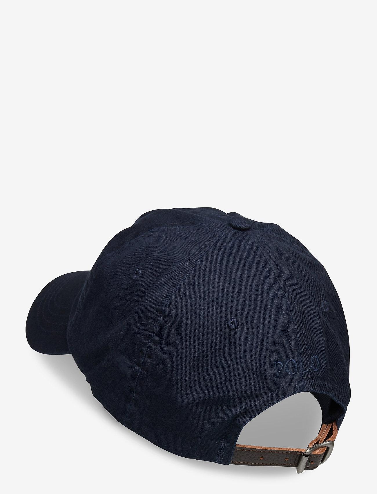 Polo Ralph Lauren Big Pony Chino Cap - Czapki i kapelusze AVIATOR NAVY - Akcesoria