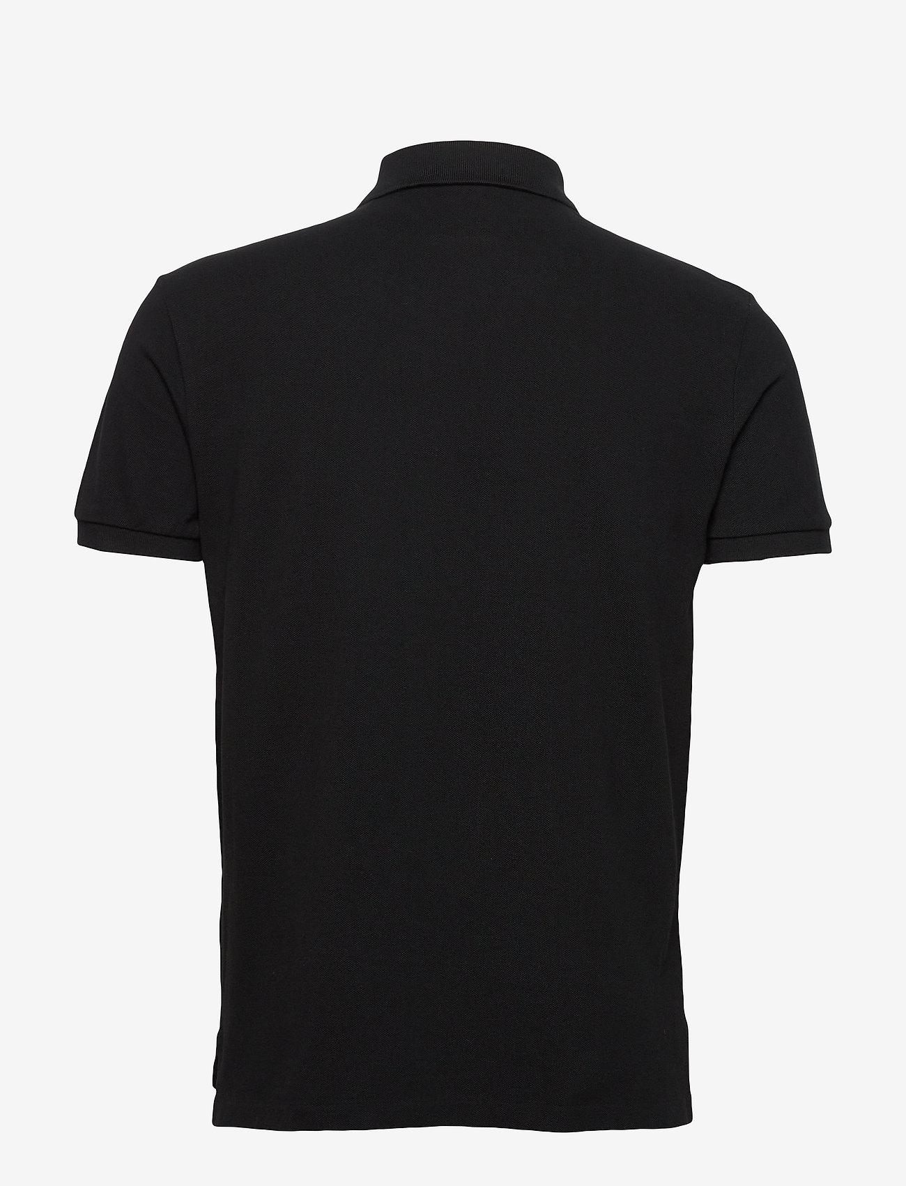 Polo Ralph Lauren - Custom Slim Fit Mesh Polo - krótki rękaw - polo black/c3870 - 1