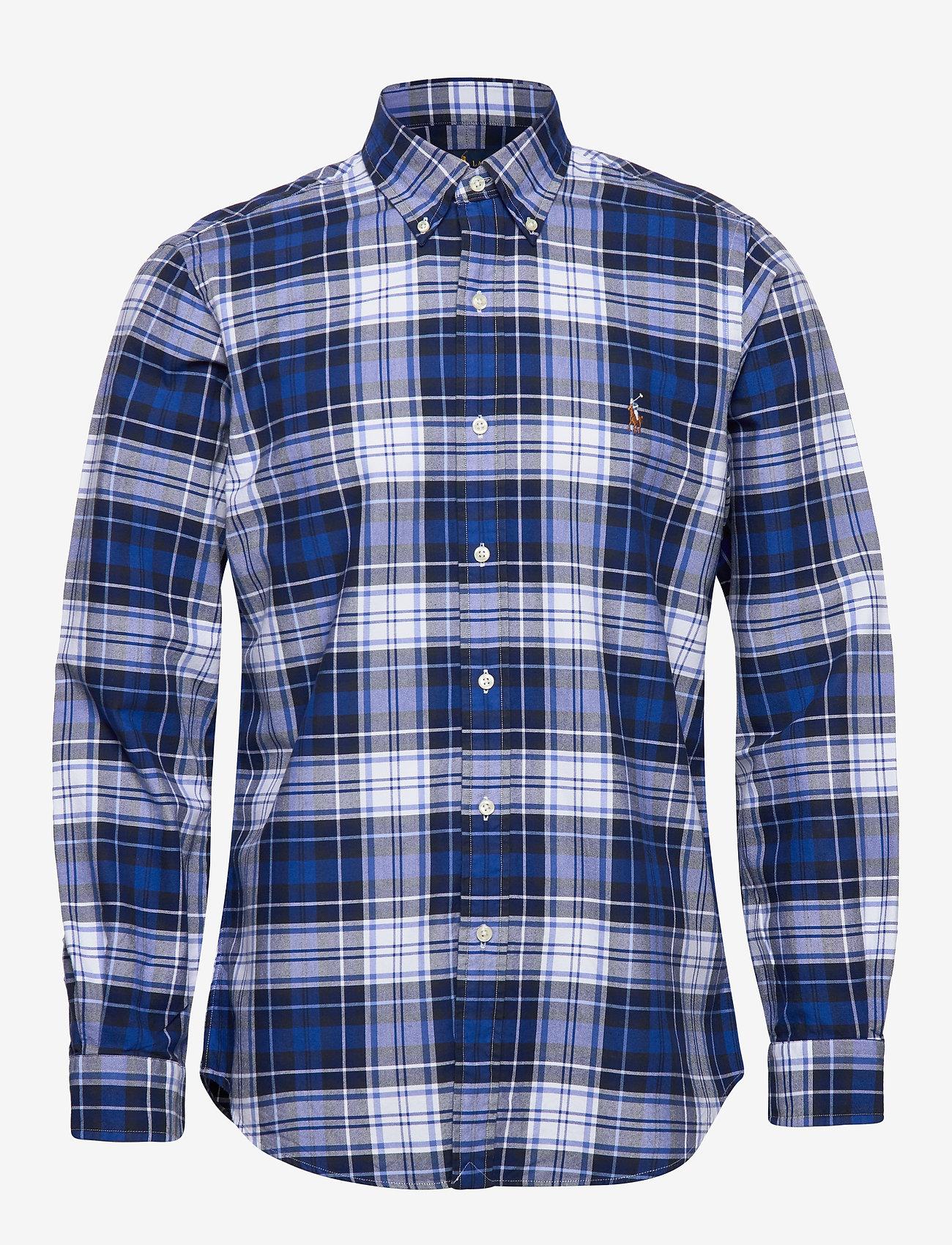 Polo Ralph Lauren - Custom Fit Striped Shirt - oxford shirts - 4336 blue/white m - 0