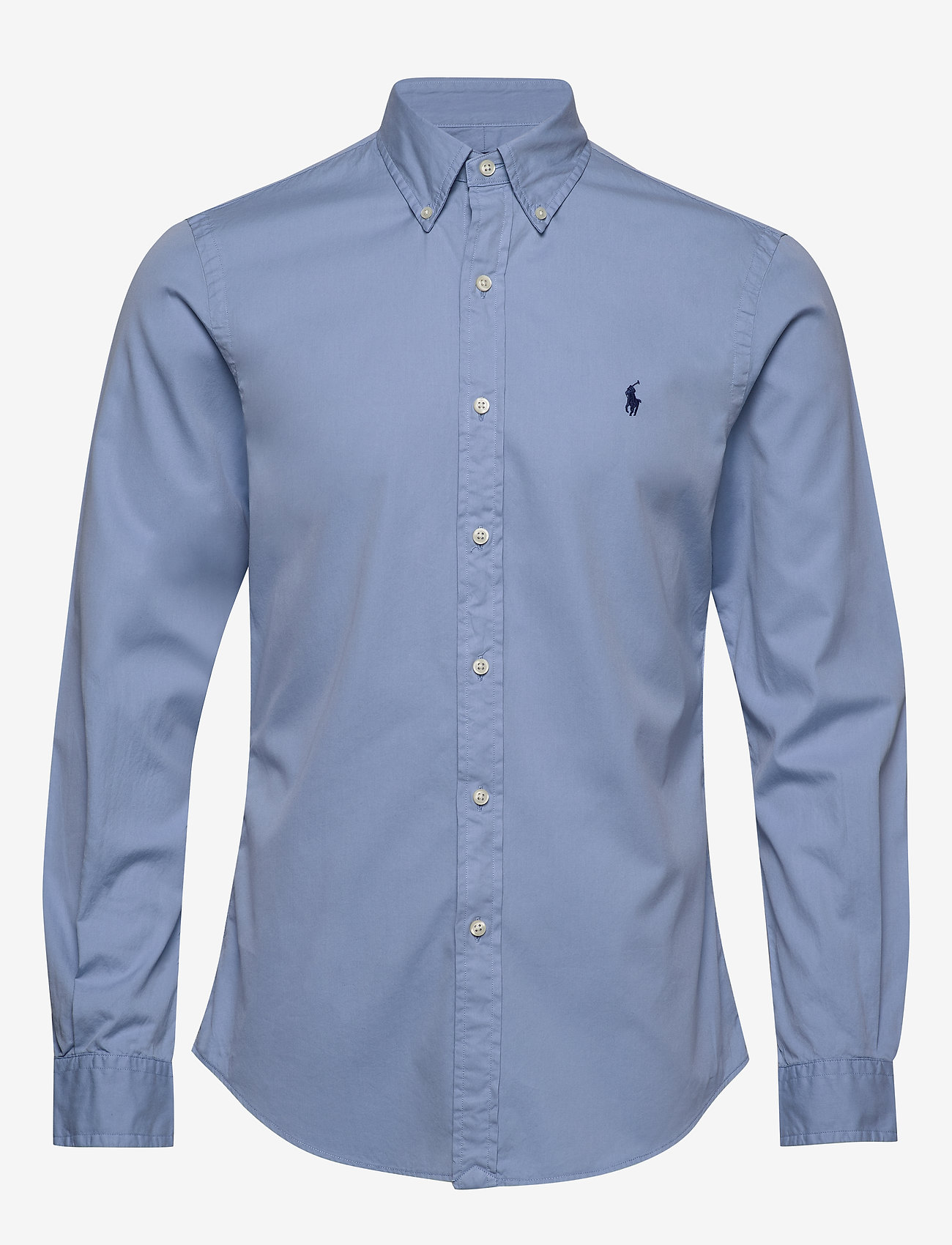 Polo Ralph Lauren - GD CHINO-SLBDPPCSPT - podstawowe koszulki - dress shirt blue - 0