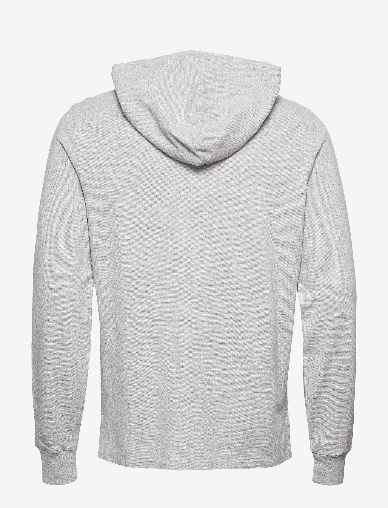 Polo Ralph Lauren - Cotton Mesh Hoodie - basic sweatshirts - andover heather/c - 1