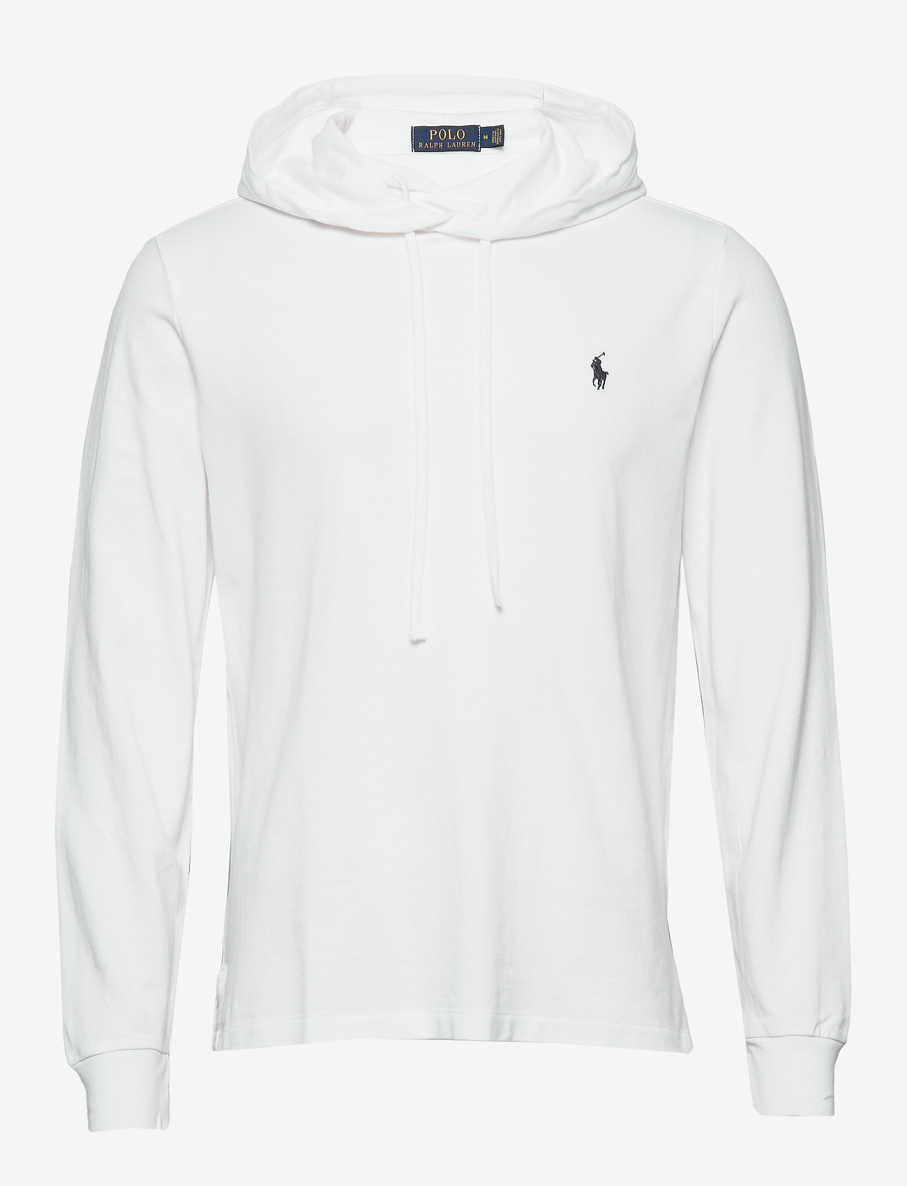 Polo Ralph Lauren - Cotton Mesh Hoodie - basic sweatshirts - white/c7996 - 0