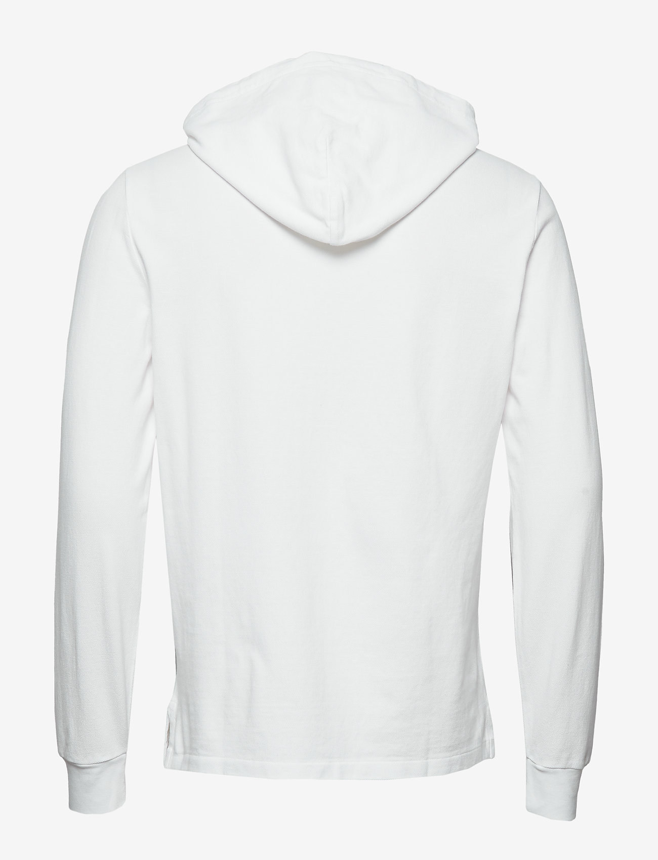 Polo Ralph Lauren - Cotton Mesh Hoodie - basic sweatshirts - white/c7996 - 1