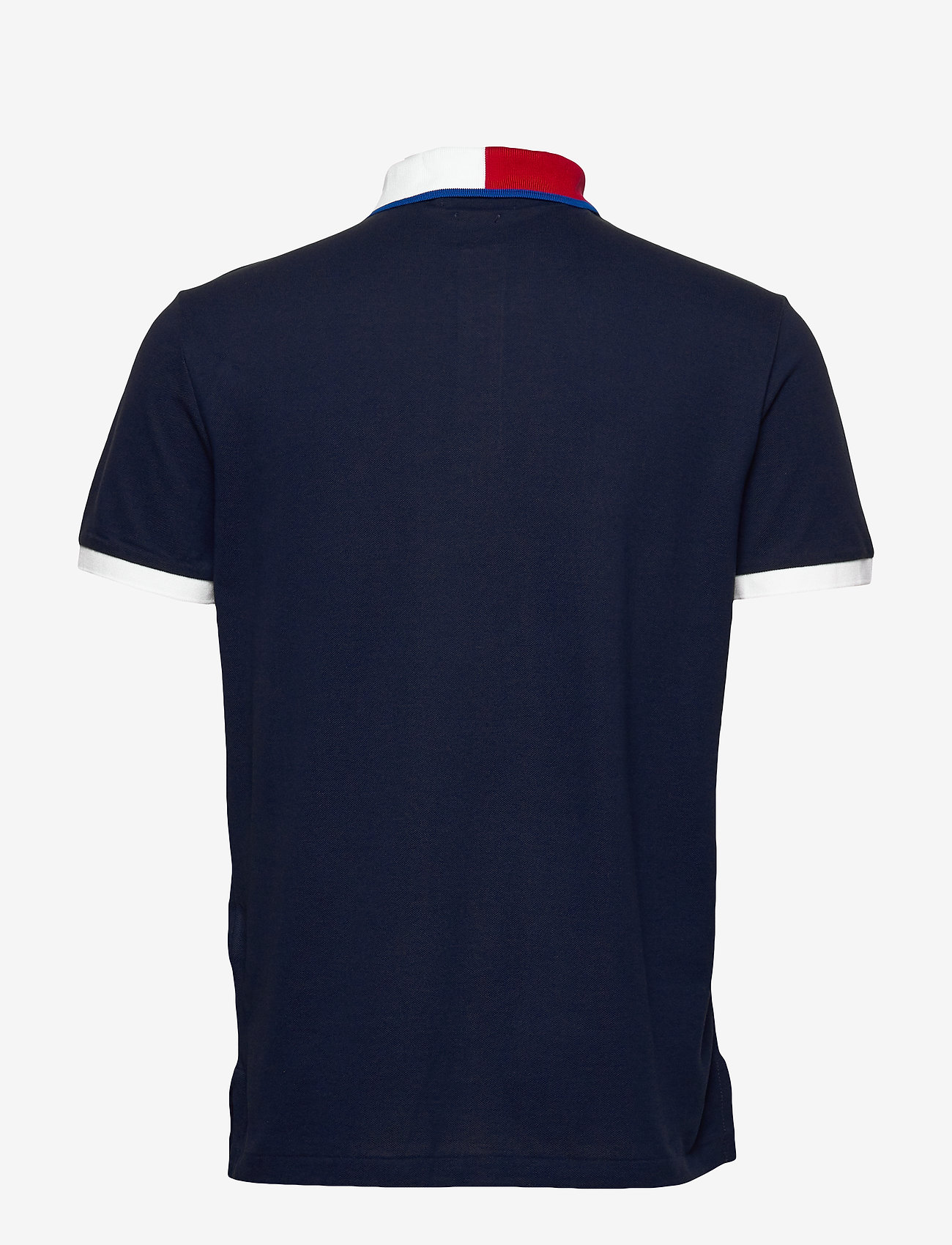 Polo Ralph Lauren - Custom Slim Fit Mesh Polo - short-sleeved polos - cruise navy