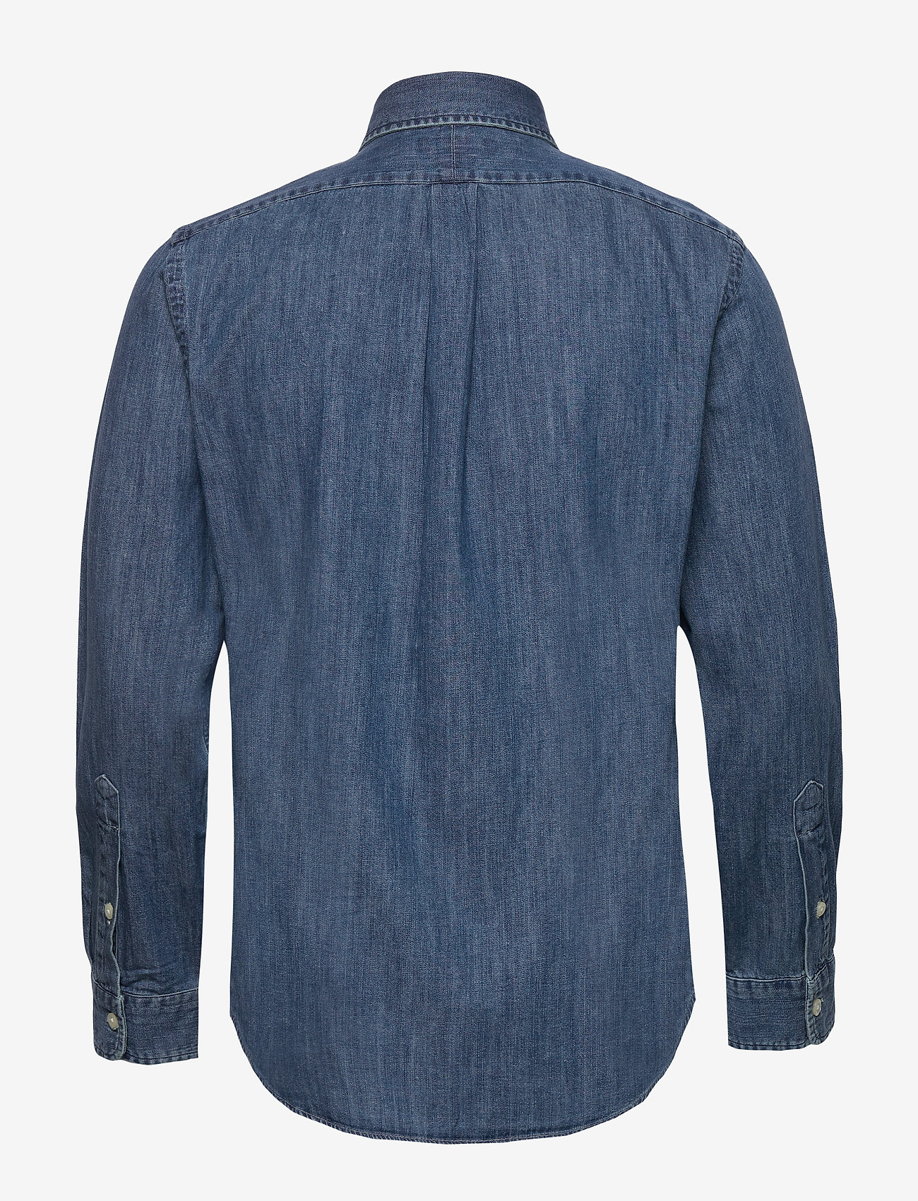 Polo Ralph Lauren - Custom Fit Denim Shirt - podstawowe koszulki - denim - 1