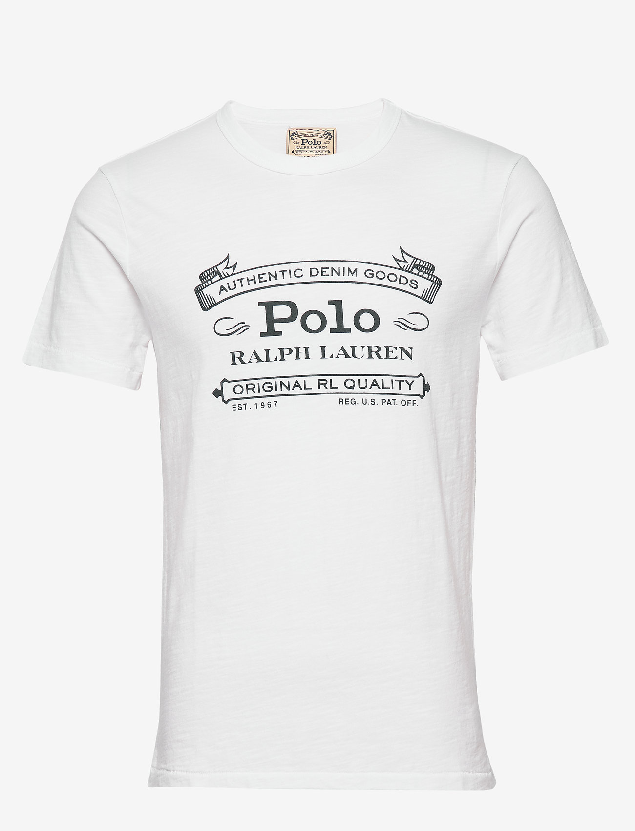 Polo Ralph Lauren - Custom Slim Fit Jersey T-Shirt - short-sleeved t-shirts - white - 0