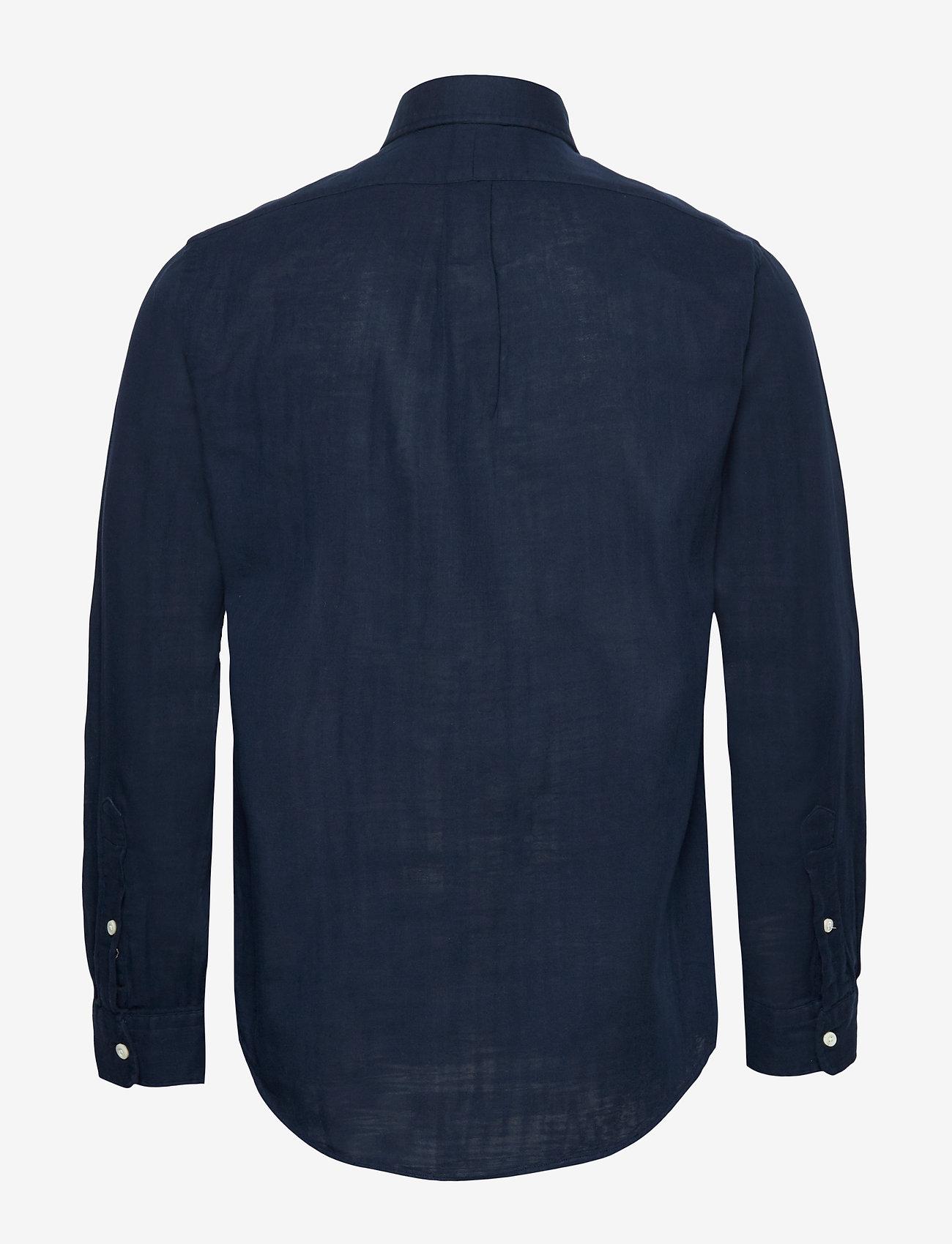 Polo Ralph Lauren - Custom Fit Double-Faced Shirt - basic shirts - cruise navy - 1