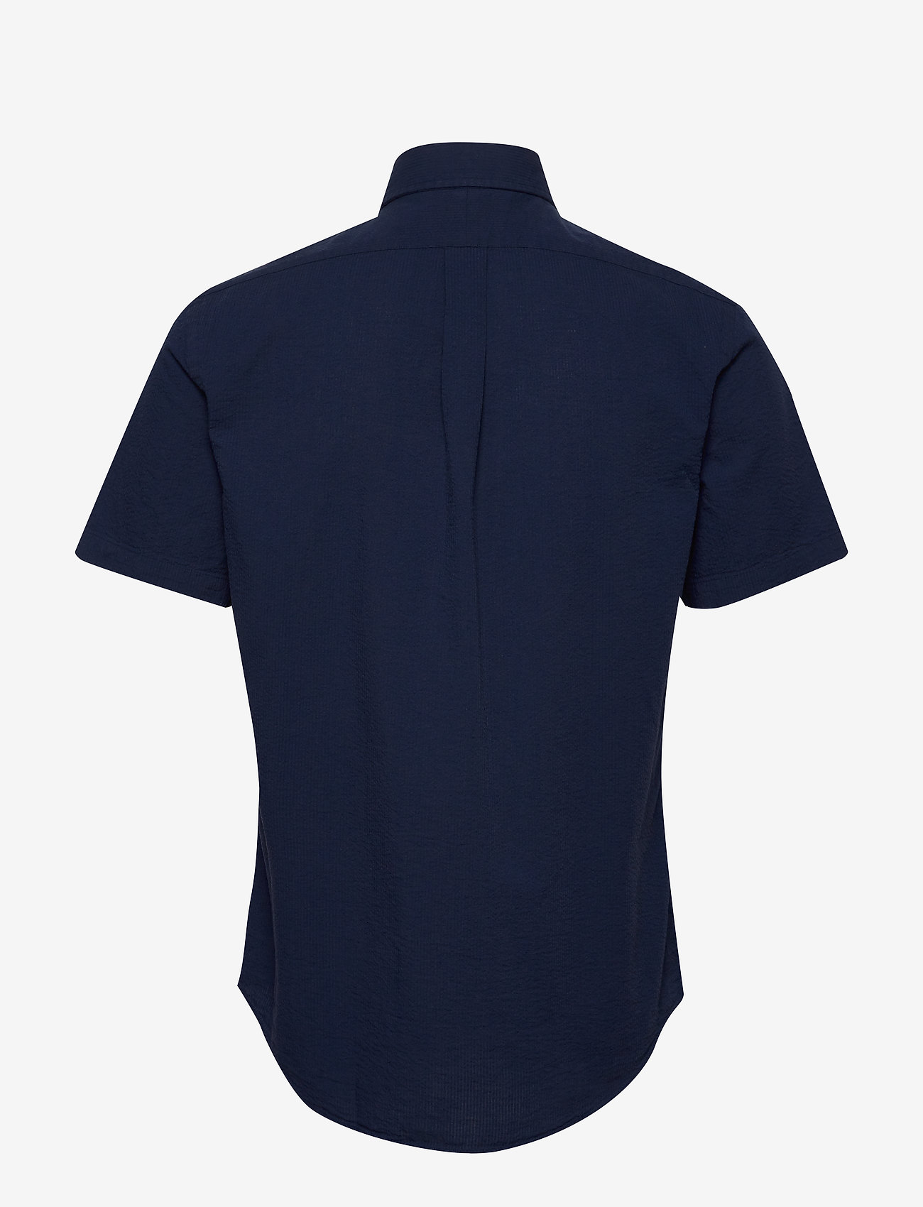 Polo Ralph Lauren - Custom Fit Seersucker Shirt - short-sleeved shirts - astoria navy - 1