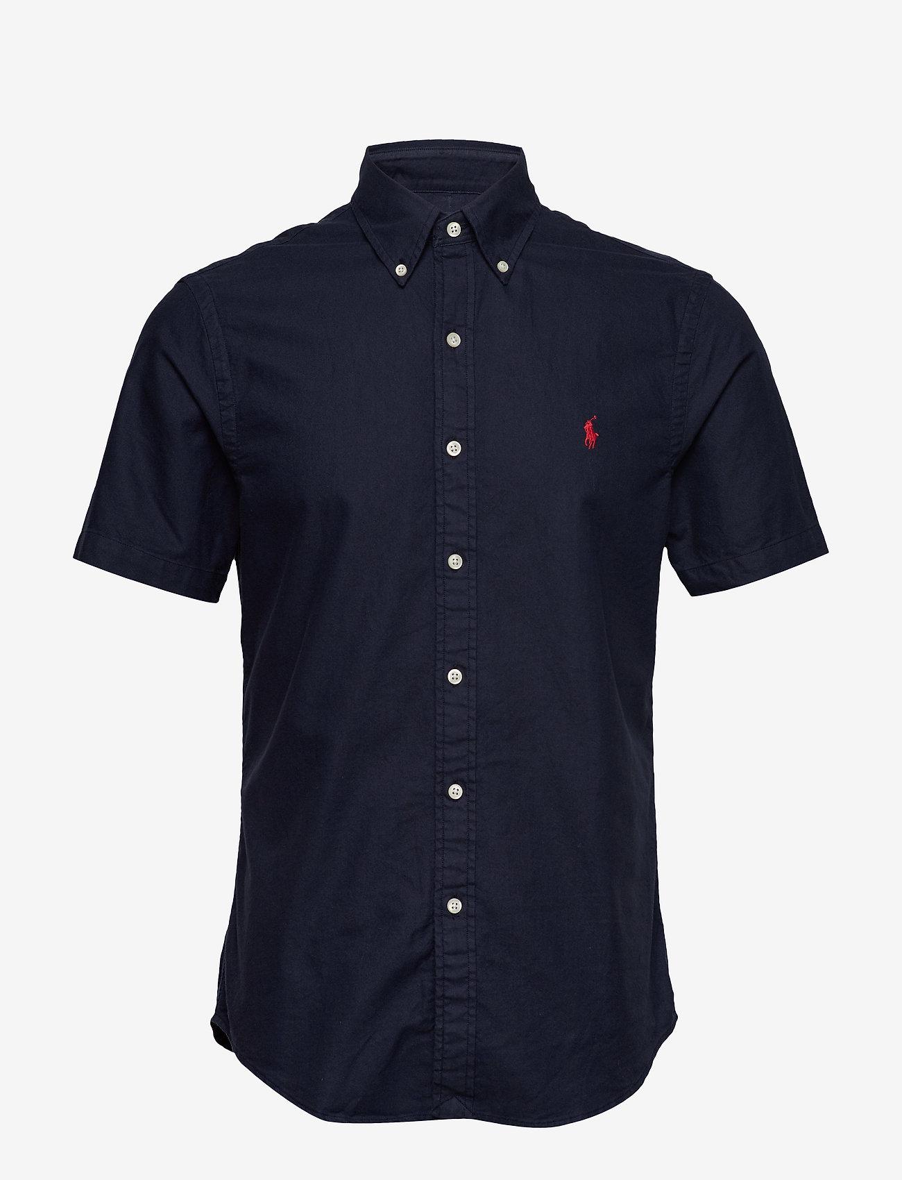 Polo Ralph Lauren - Slim Fit Oxford Shirt - basic shirts - rl navy - 0