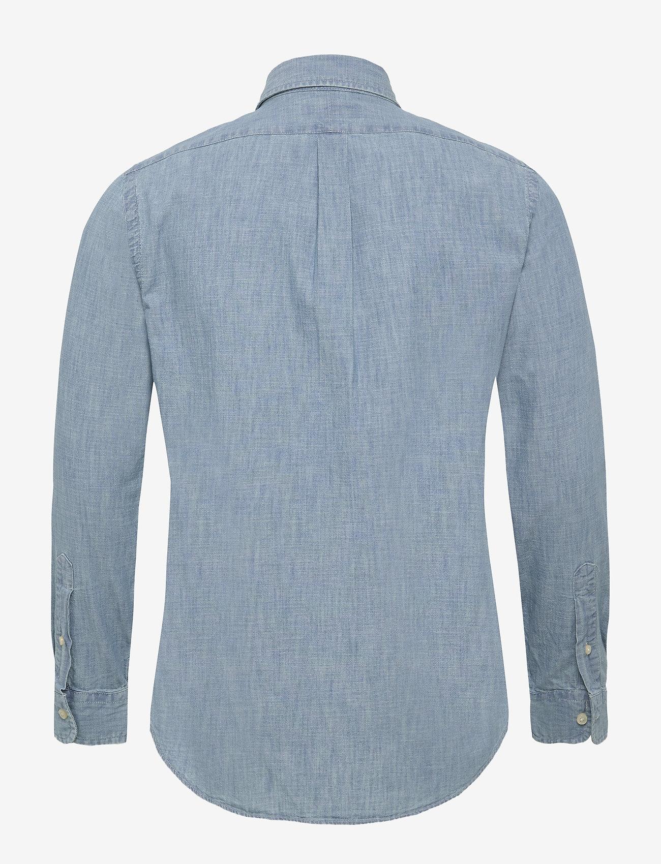Slim Fit Indigo Chambray Shirt (Light Indigo) - Polo Ralph Lauren lWmg8m
