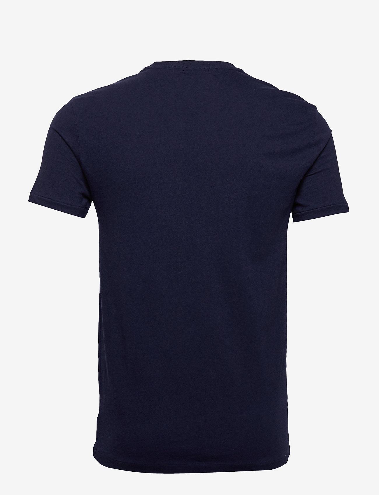 Polo Ralph Lauren - Custom Slim Fit Bear T-Shirt - short-sleeved t-shirts - cruise navy