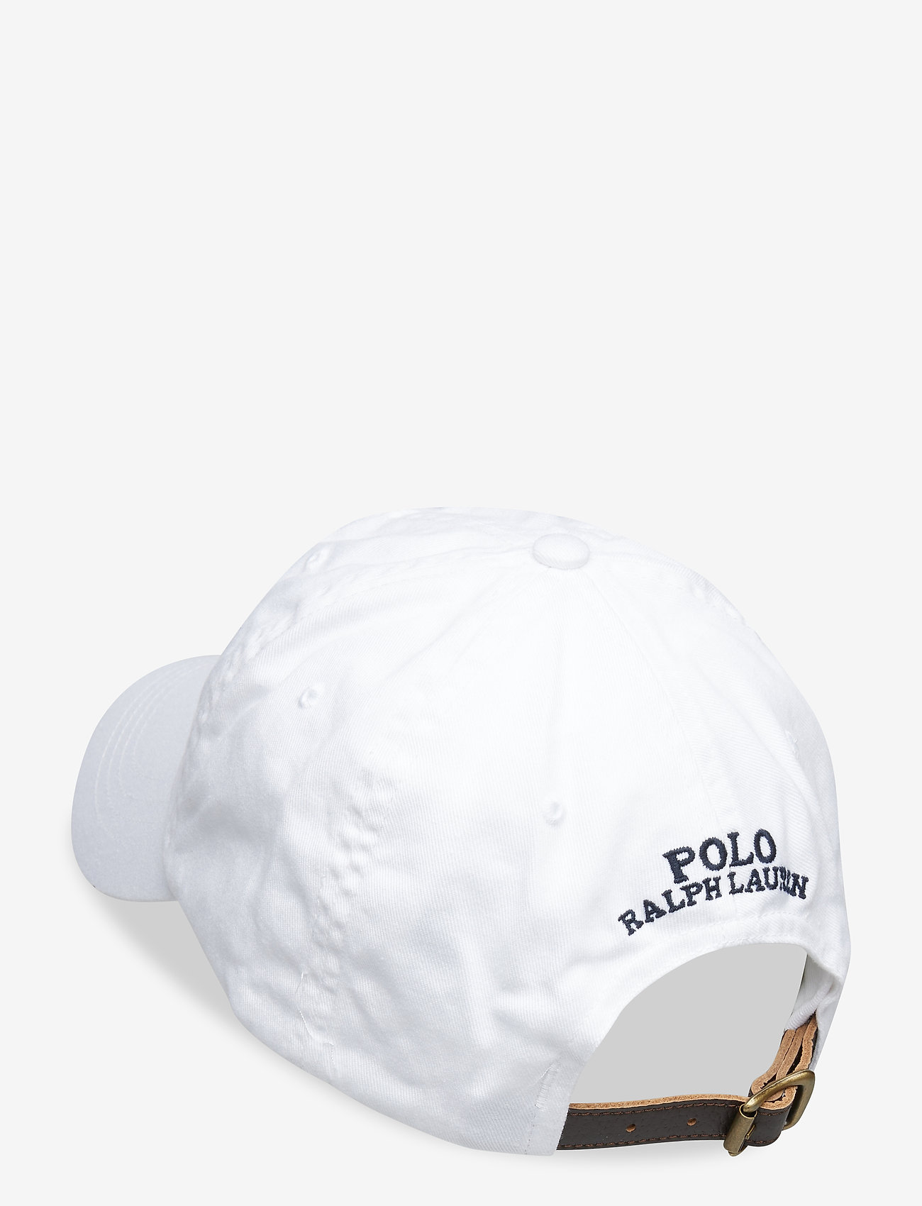 Polo Ralph Lauren CLASSIC SPORT CAP W/ BEAR - Czapki i kapelusze WHITE - Akcesoria