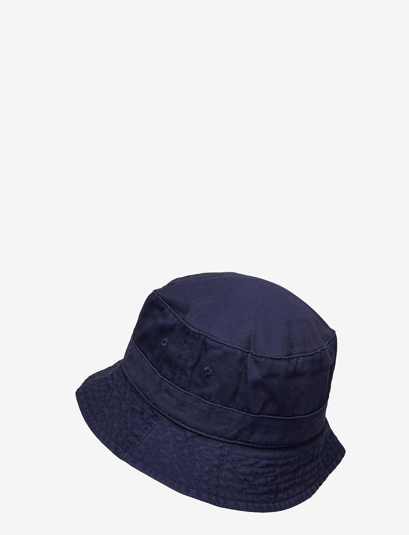 Polo Ralph Lauren - Cotton Chino Bucket Hat - bonnets & casquettes - newport navy - 1