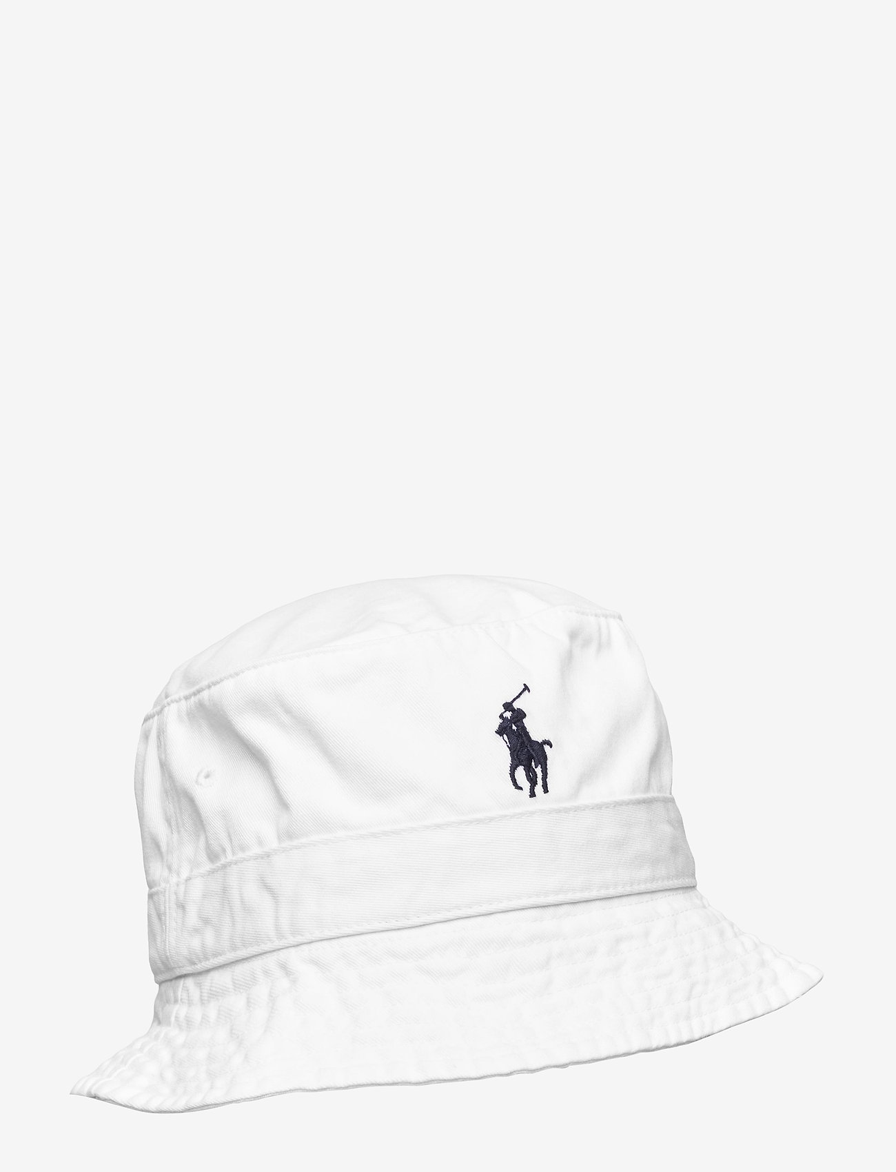 Polo Ralph Lauren - Cotton Chino Bucket Hat - bucket hats - white - 0
