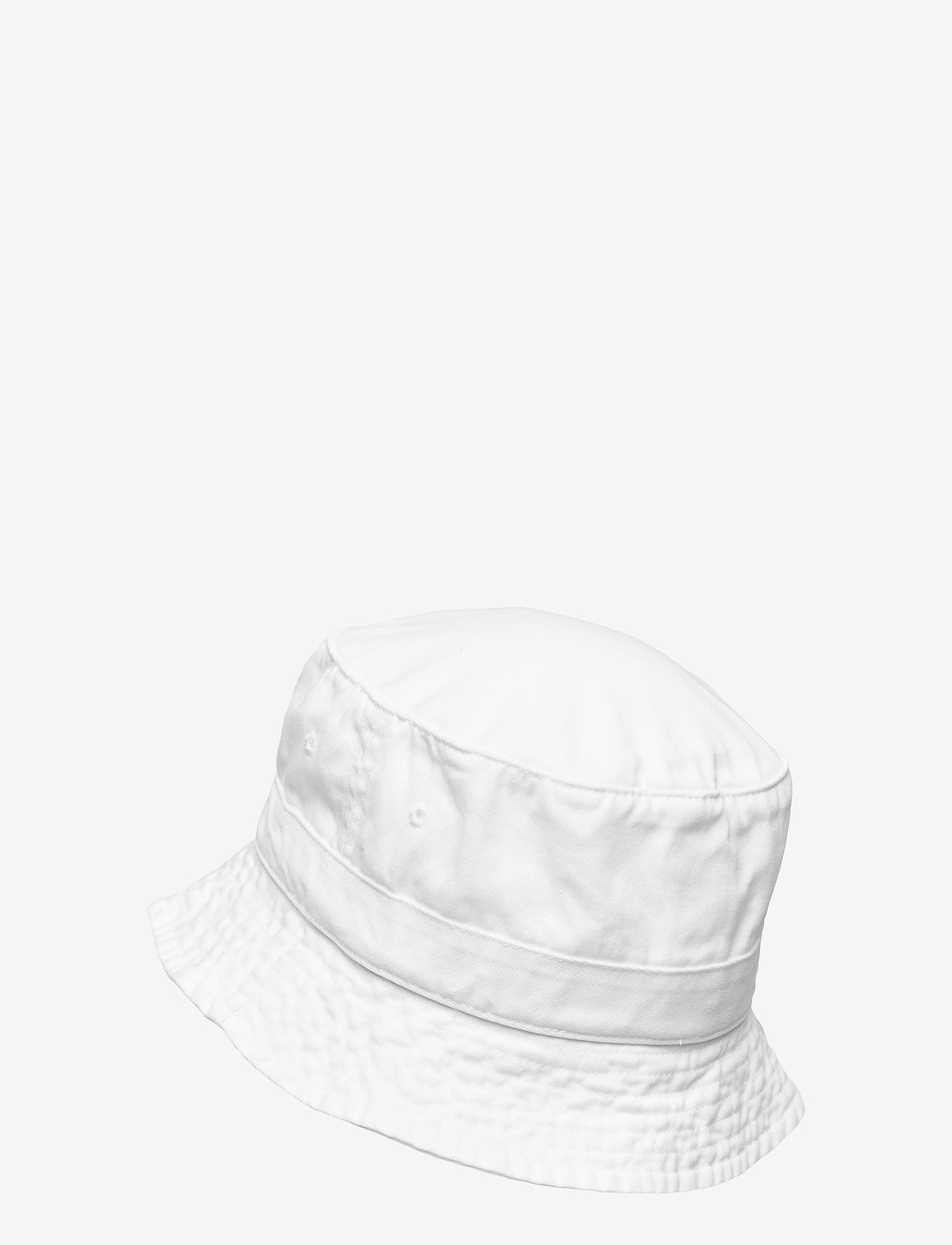 Polo Ralph Lauren - Cotton Chino Bucket Hat - bucket hats - white - 1