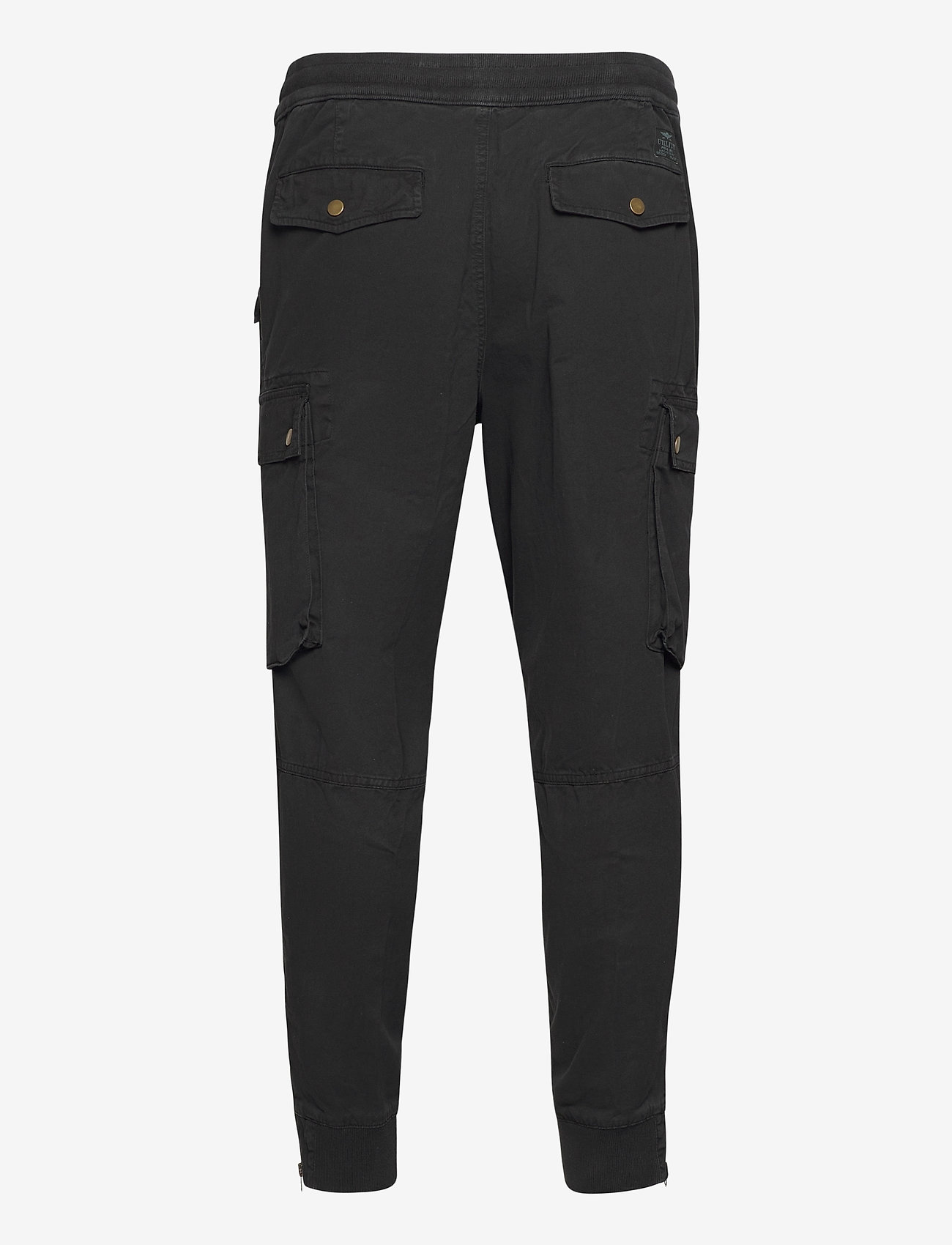 Polo Ralph Lauren - Stretch Classic Fit Cargo Pant - cargobukser - new classic black - 1