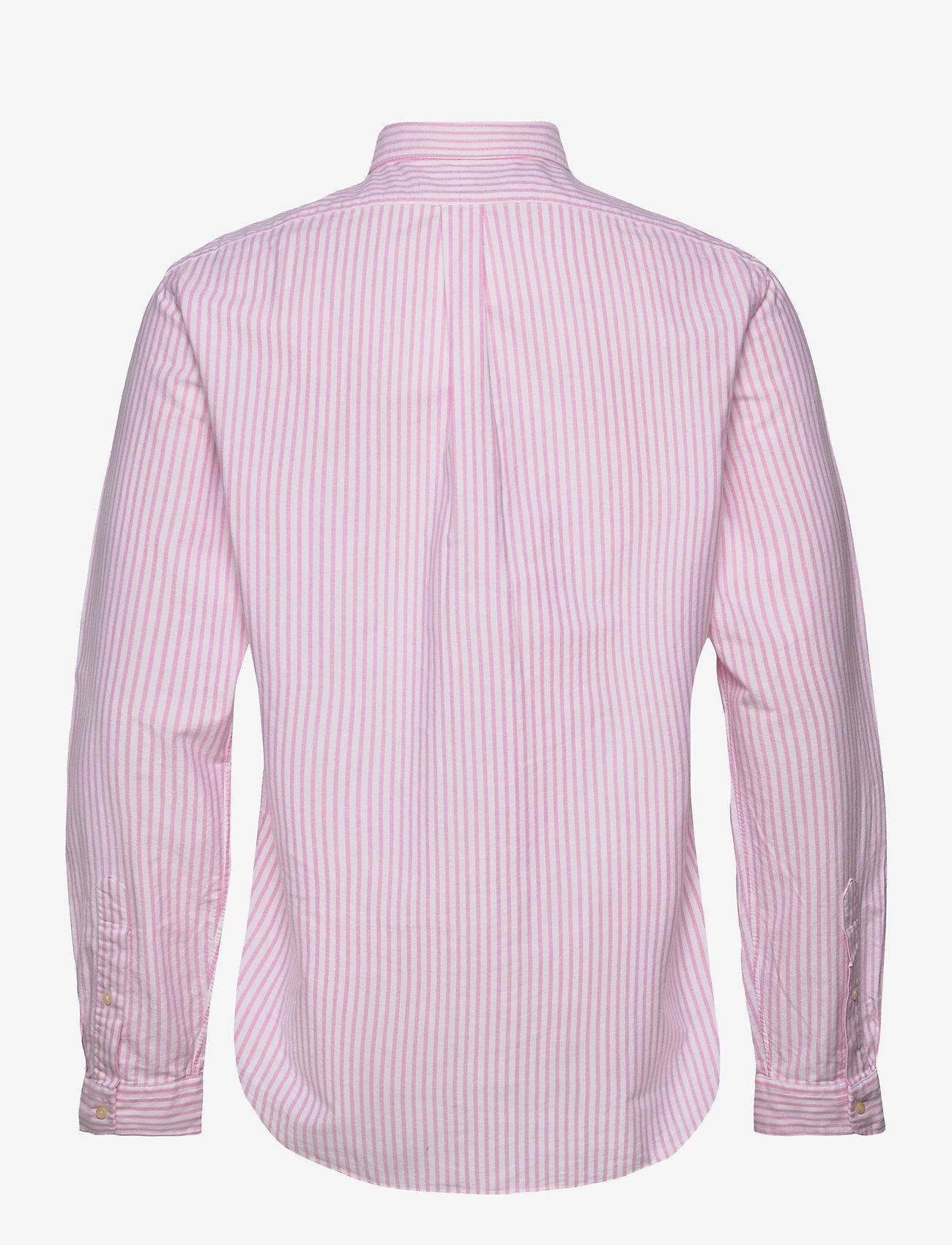 Polo Ralph Lauren - OXFORD-SLBDPPCS - oxford shirts - 2600b rose pink/w - 1