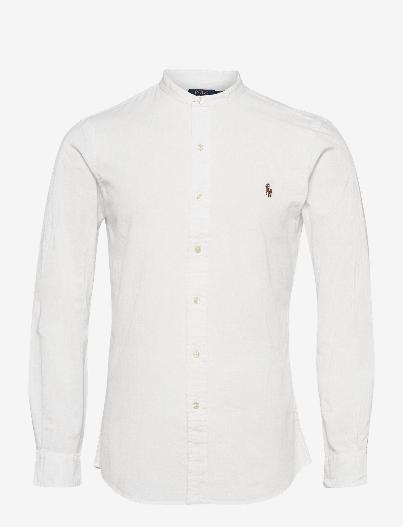 Polo Ralph Lauren - CHAMBRAY-SLPSBBNDPPCS - business shirts - white - 0