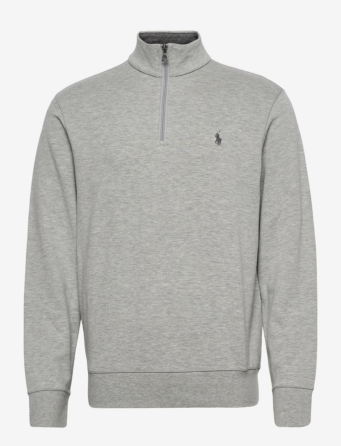 Polo Ralph Lauren - Jersey Quarter-Zip Pullover - half zip - andover heather/c - 0
