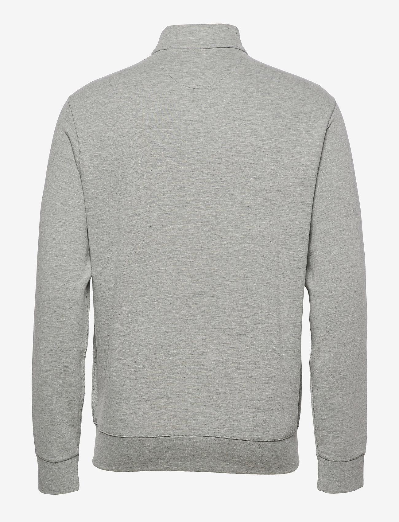 Polo Ralph Lauren - Jersey Quarter-Zip Pullover - half zip - andover heather/c - 1
