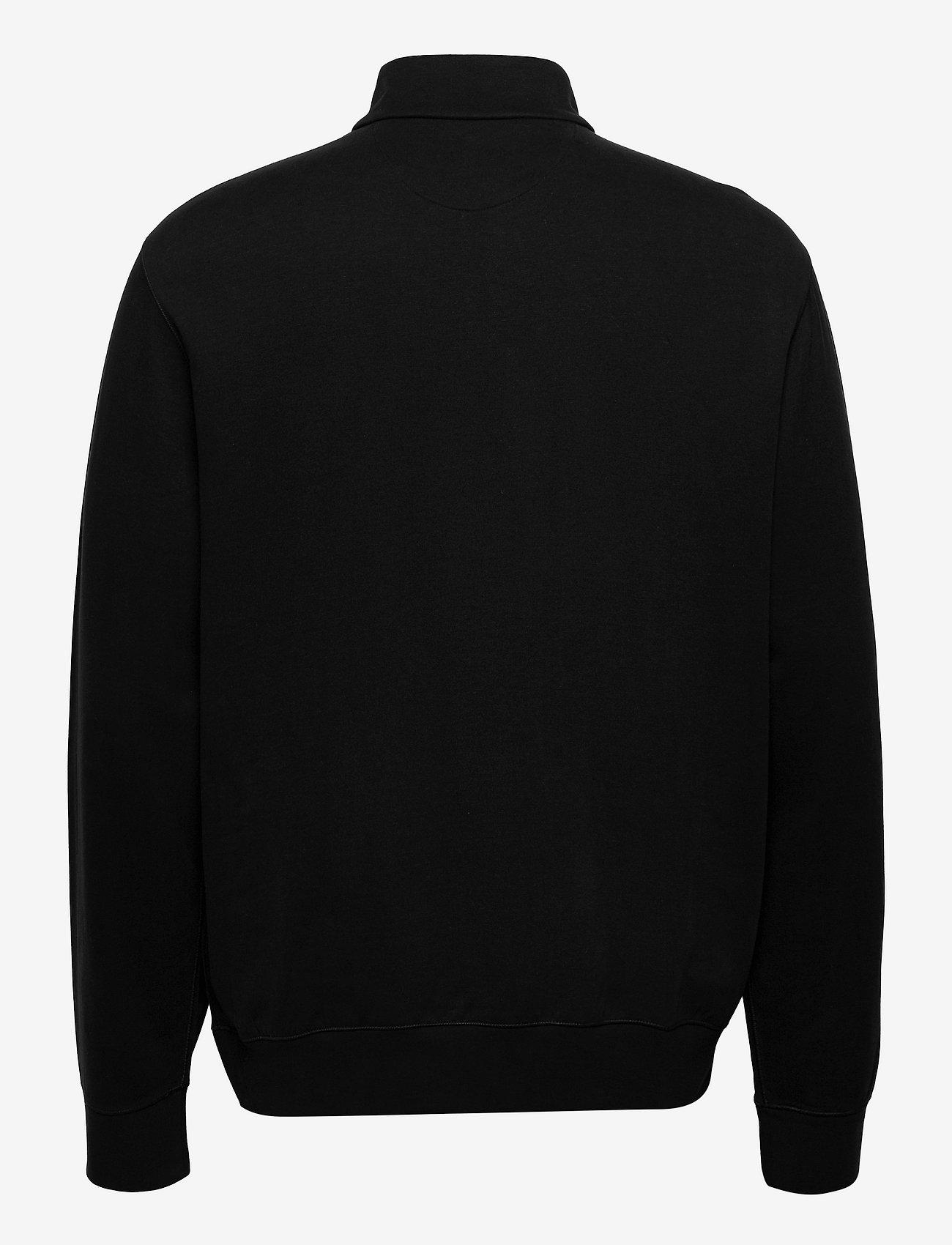 Polo Ralph Lauren - Jersey Quarter-Zip Pullover - half zip - polo black/c9686 - 1