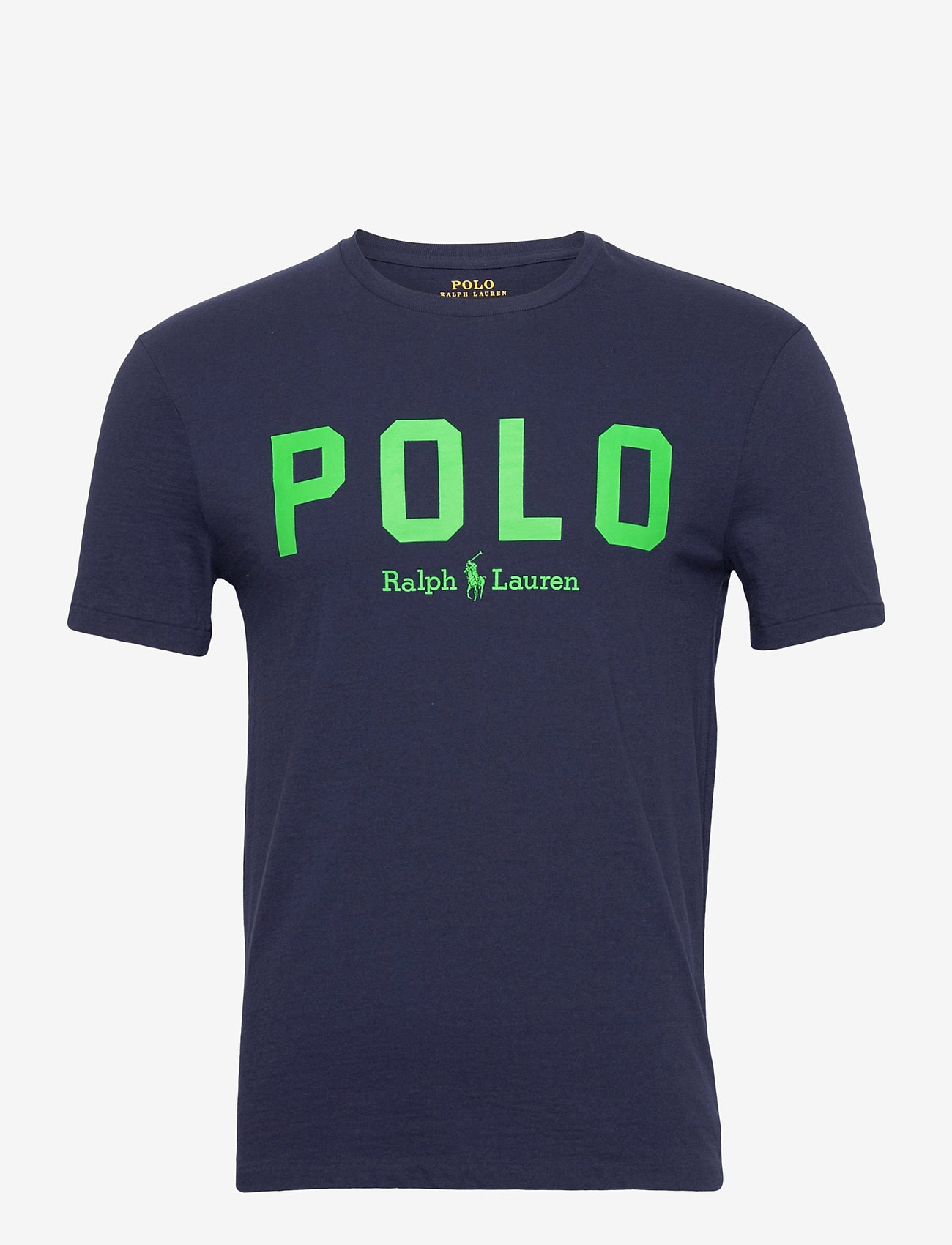 Polo Ralph Lauren - 26/1 JERSEY-SSL-TSH - short-sleeved t-shirts - french navy/neon - 0