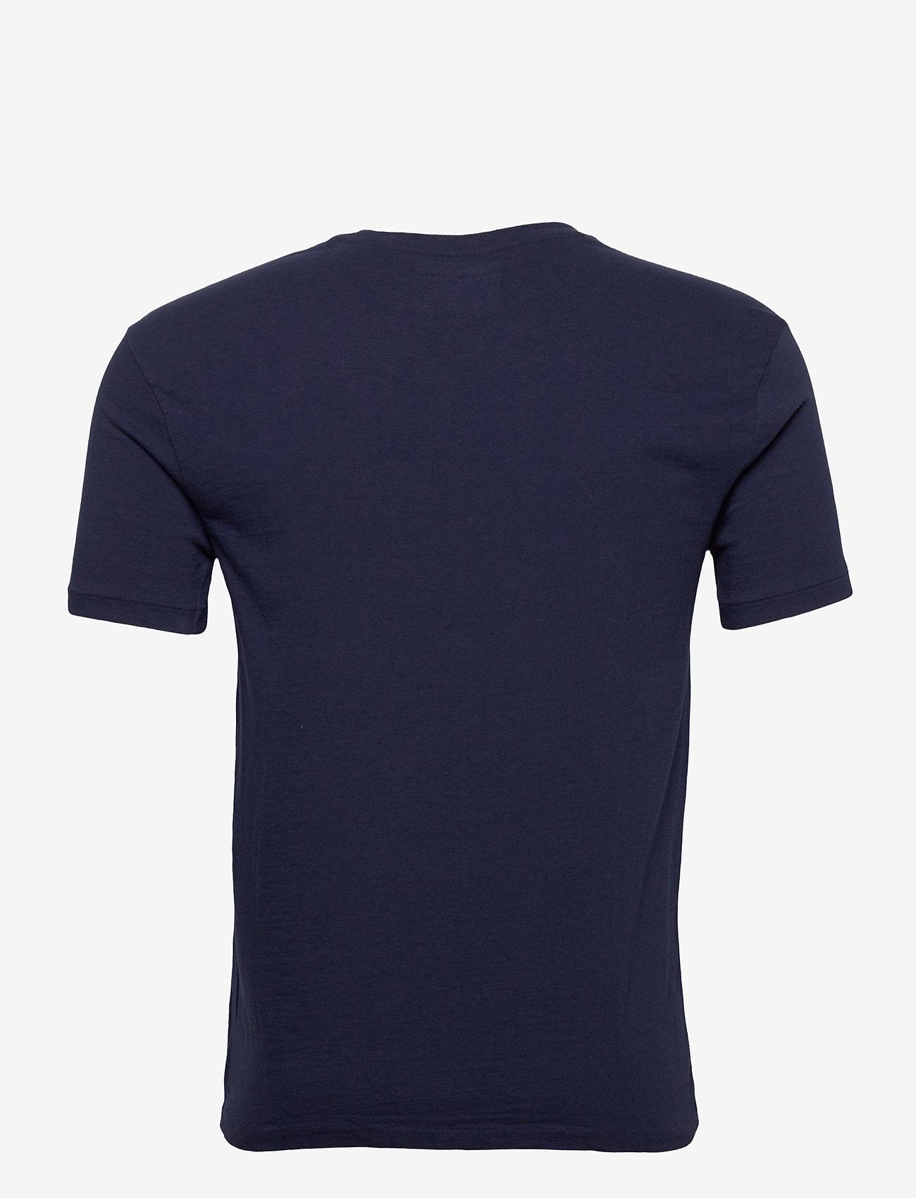 Polo Ralph Lauren - 26/1 JERSEY-SSL-TSH - short-sleeved t-shirts - french navy/neon - 1