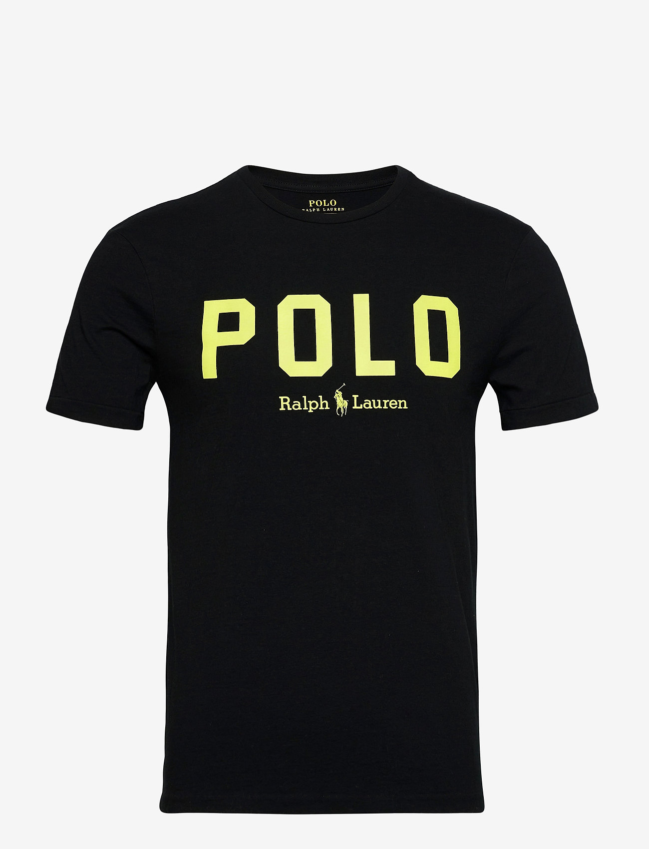 Polo Ralph Lauren - 26/1 JERSEY-SSL-TSH - short-sleeved t-shirts - polo black/bright - 0