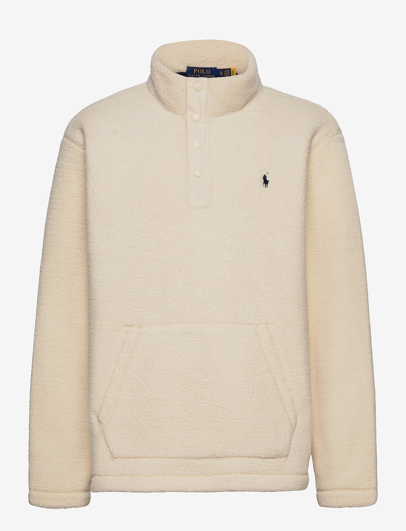 Polo Ralph Lauren - Fleece Mockneck Pullover - basic-sweatshirts - winter cream - 0