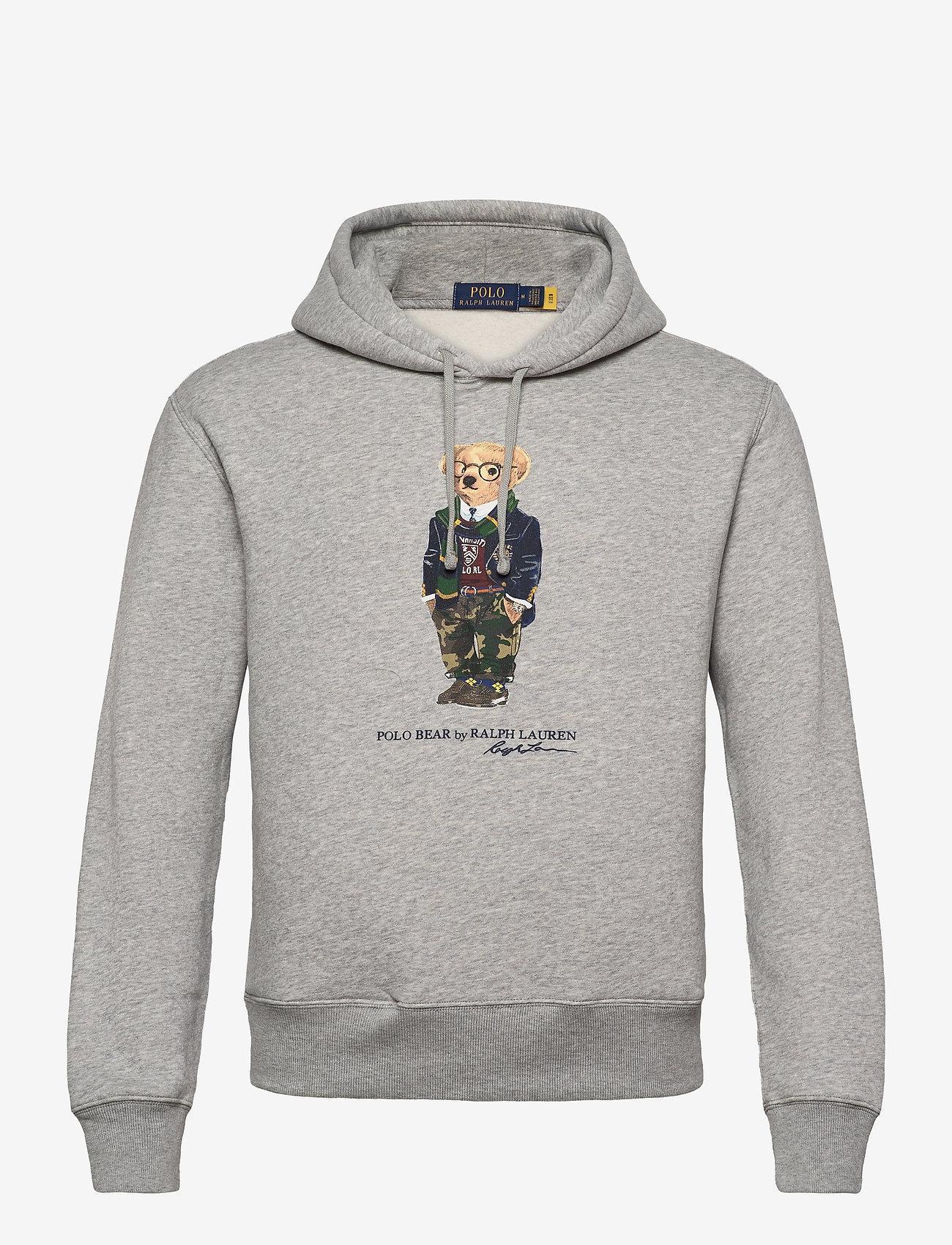 Polo Ralph Lauren - MAGIC FLEECE-LSL-KNT - hoodies - andover heather - 0