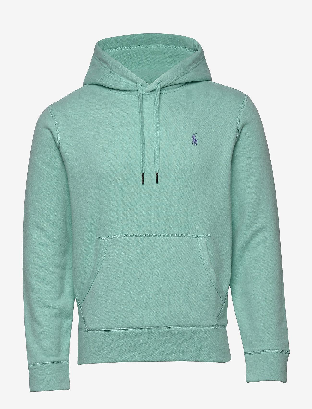 Polo Ralph Lauren - Cotton-Blend-Fleece Hoodie - hoodies - bayside green/c73 - 0