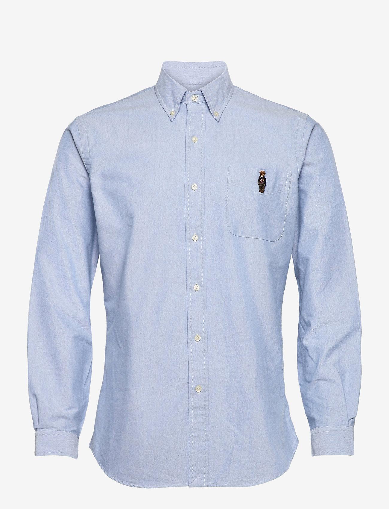 Polo Ralph Lauren - OXFORD-CUBDPKS - casual shirts - 4982a bsr blue pr - 0
