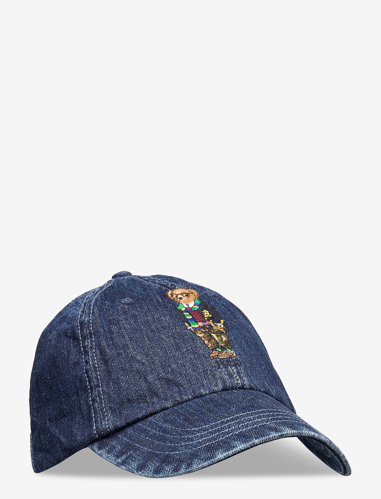 Polo Ralph Lauren - Preppy Bear Chino Cap - caps - denim - 0