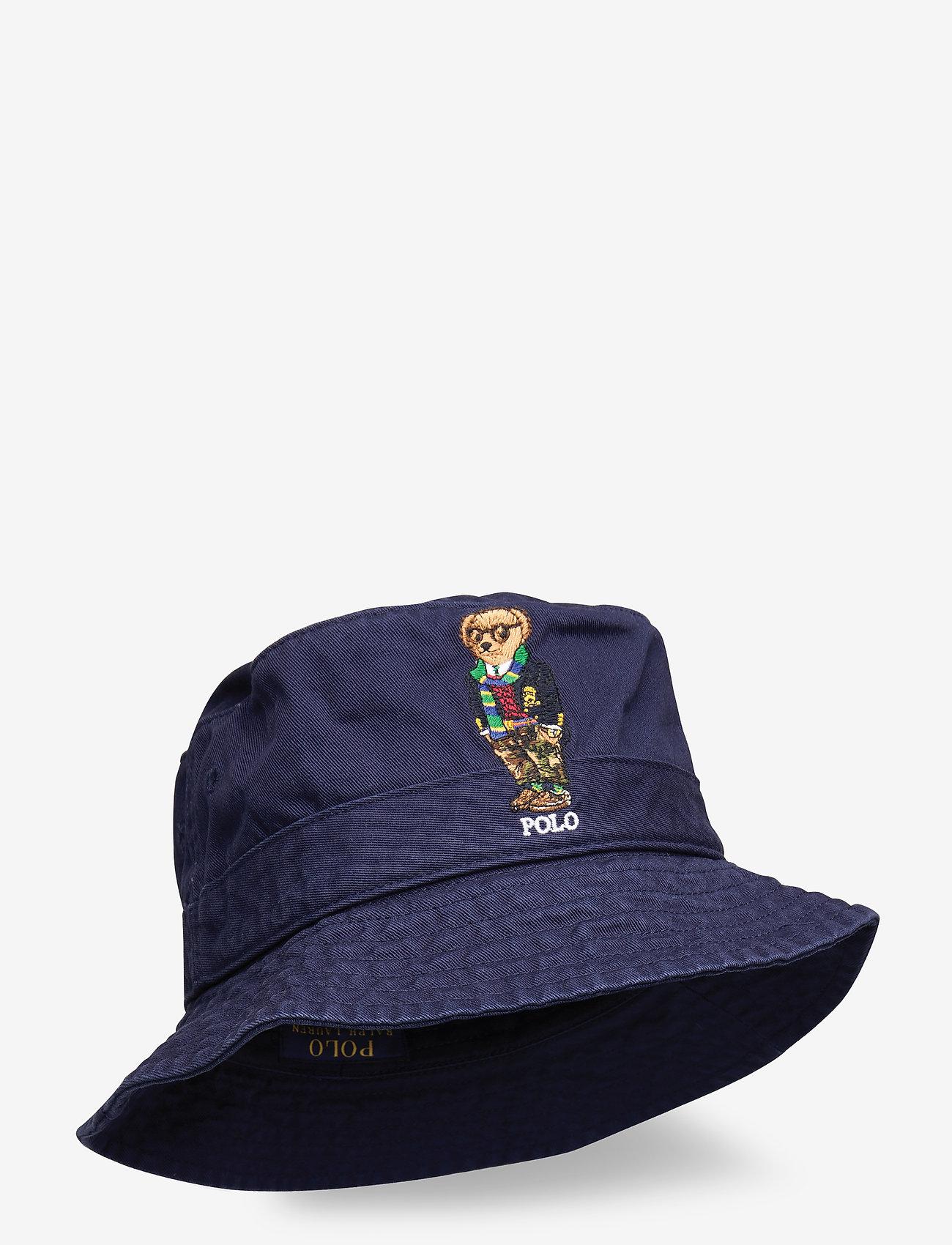 Polo Ralph Lauren - Polo Bear Chino Bucket Hat - bucket hats - newport navy - 0