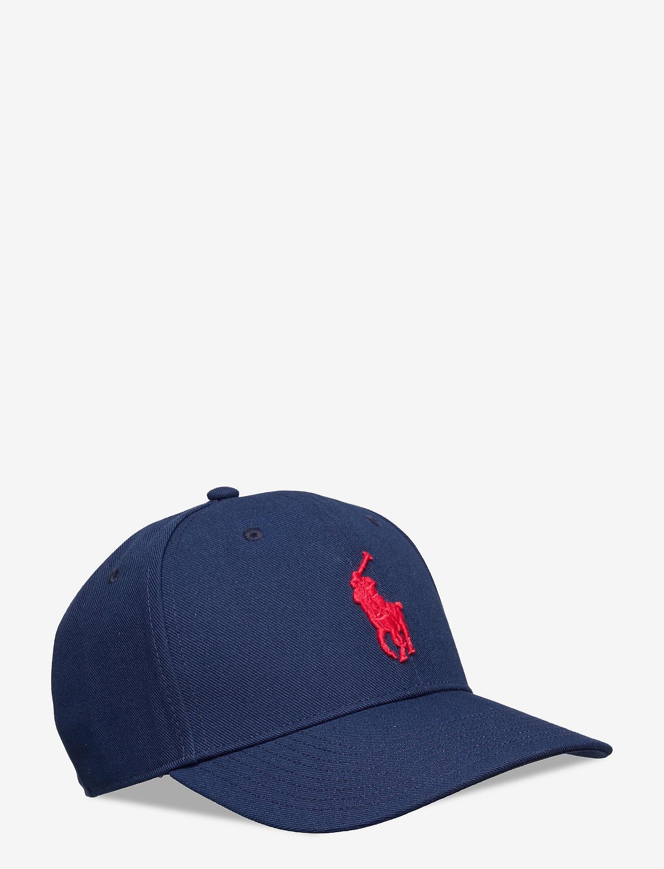 Polo Ralph Lauren - Twill High-Crown Ball Cap - petten - newport navy - 0