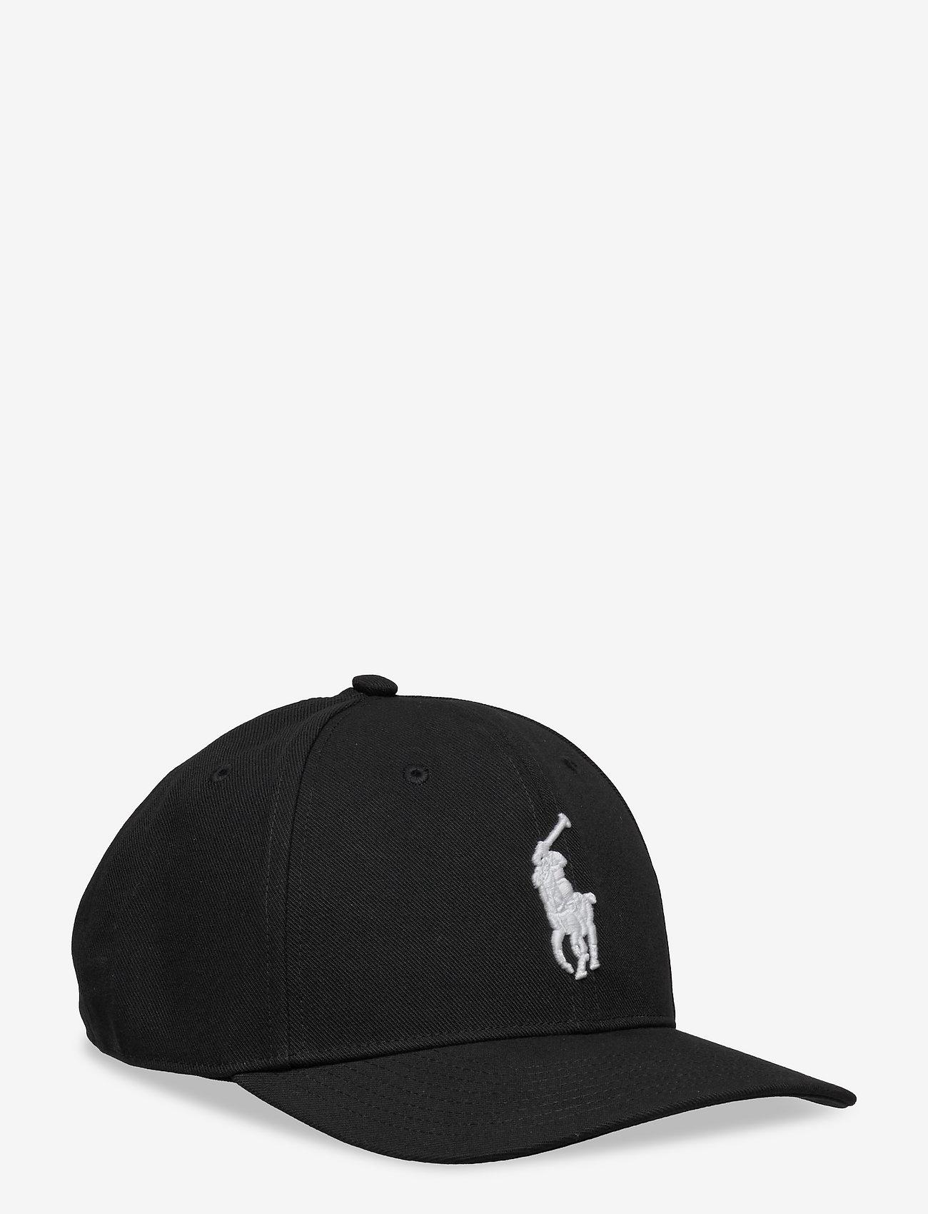 Polo Ralph Lauren - Twill High-Crown Ball Cap - caps - polo black - 0