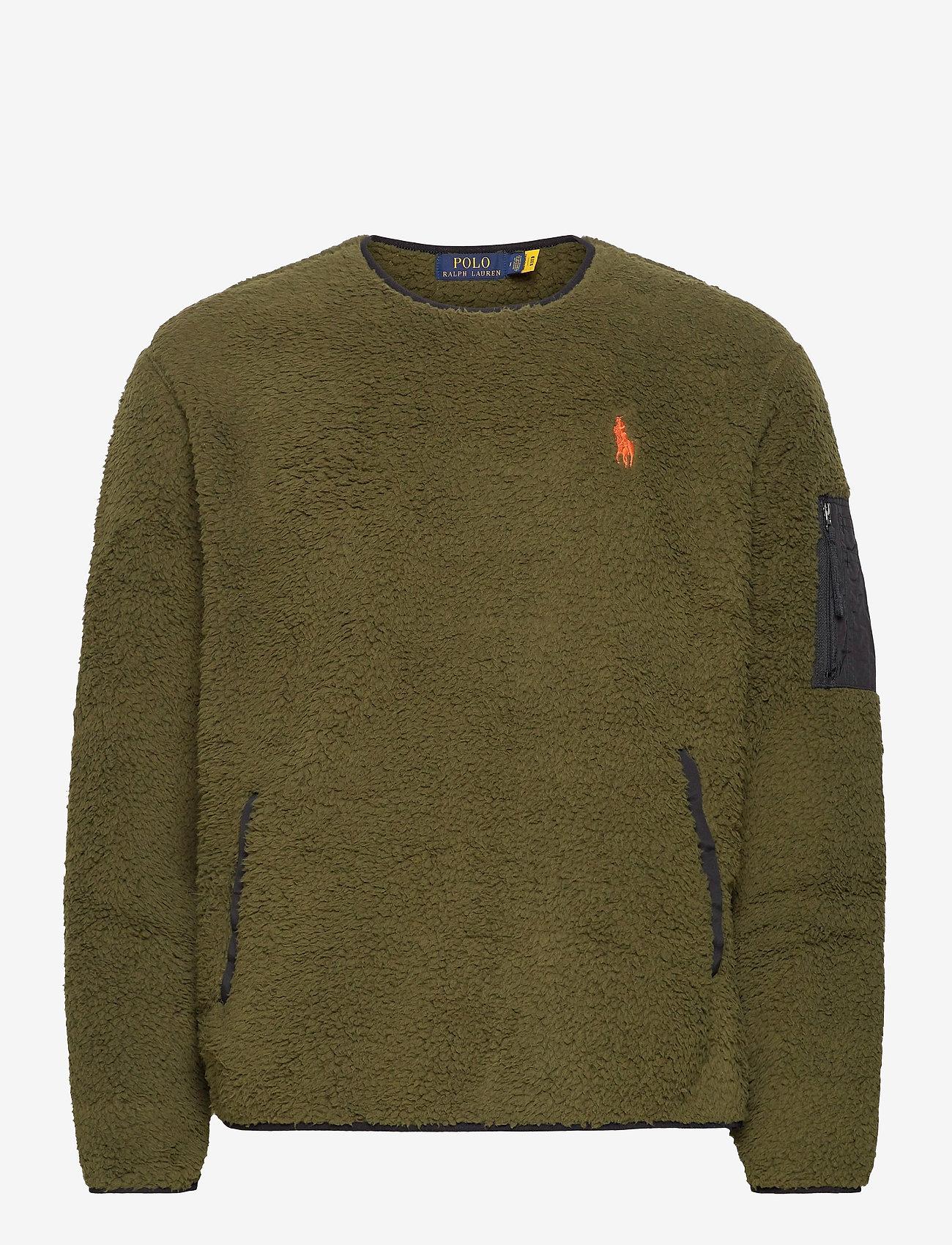 Polo Ralph Lauren - Fleece Utility Pullover - basic-sweatshirts - company olive - 0