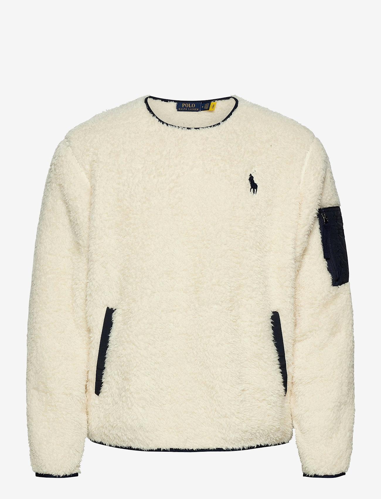 Polo Ralph Lauren - Fleece Utility Pullover - basic-sweatshirts - winter cream - 0