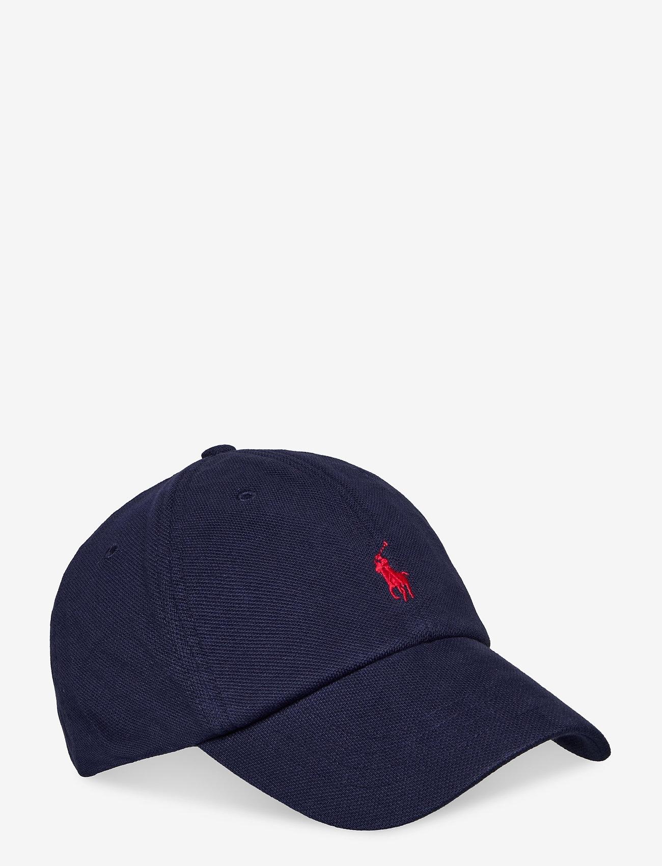 Polo Ralph Lauren - Cotton Piqué Ball Cap - caps - newport navy - 0