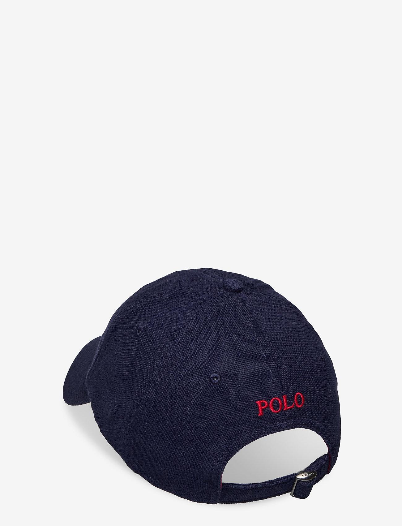 Polo Ralph Lauren - Cotton Piqué Ball Cap - caps - newport navy - 1