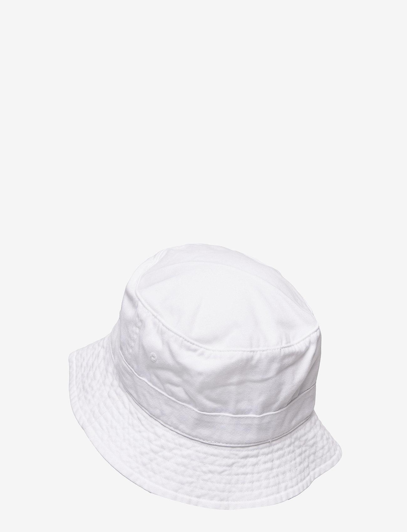 Polo Ralph Lauren - Polo Bear Chino Bucket Hat - bonnets & casquettes - white - 1