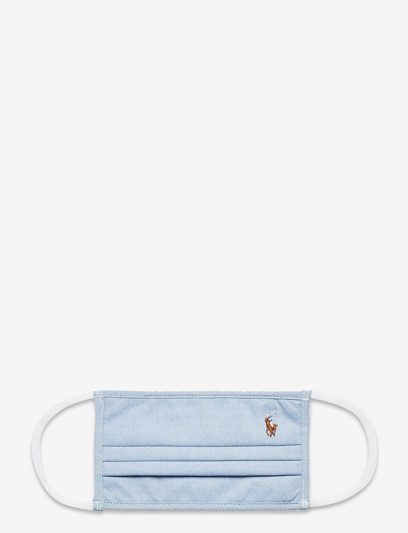 Polo Ralph Lauren - CTN YD OXFORD-MASK B - gezicht maskers - bsr blue - 0
