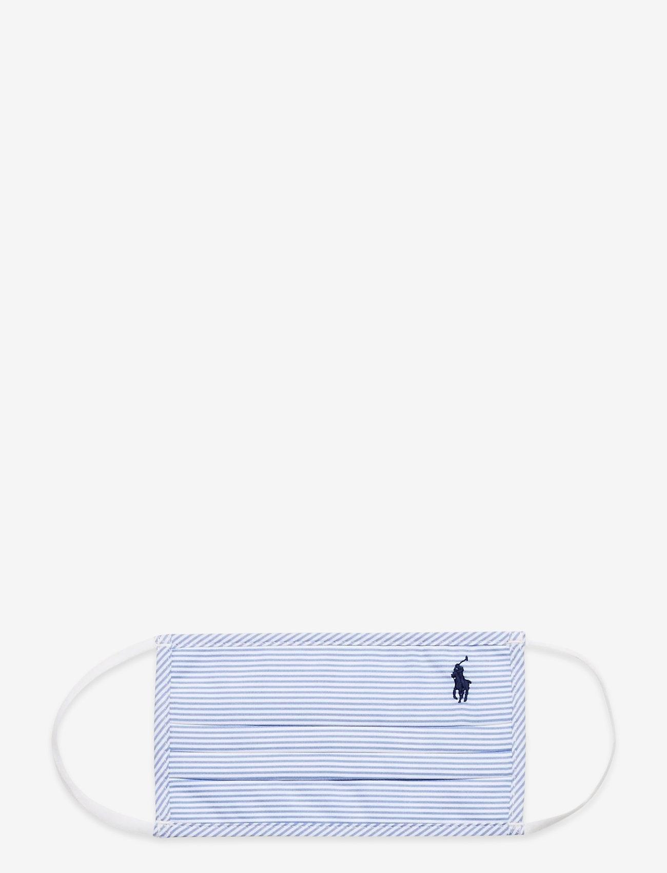 Polo Ralph Lauren - CTN YD OXFORD-MASK B - gezicht maskers - 3155b blue/white - 0