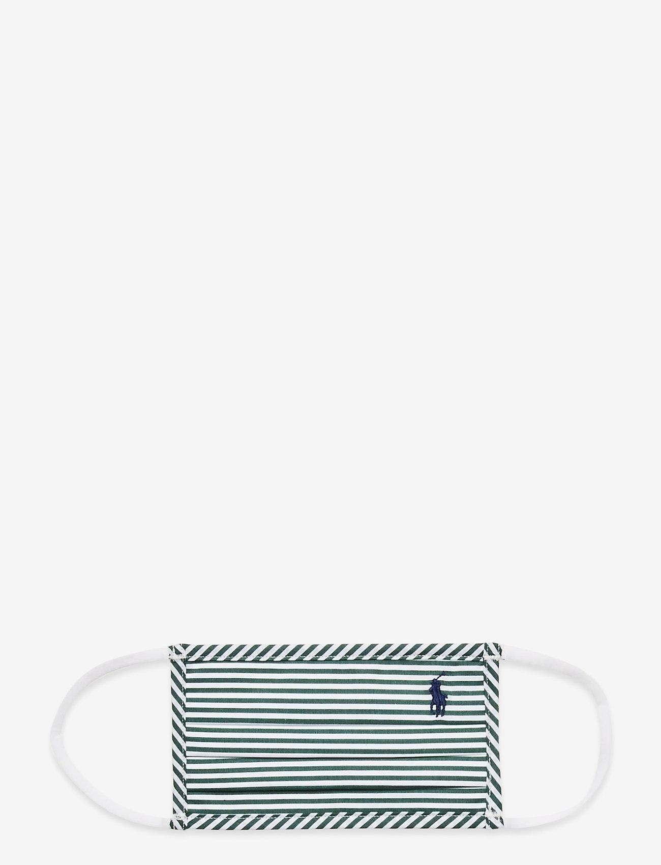 Polo Ralph Lauren - CTN YD POPLIN-FMK - gezicht maskers - 4655c pine/white - 0